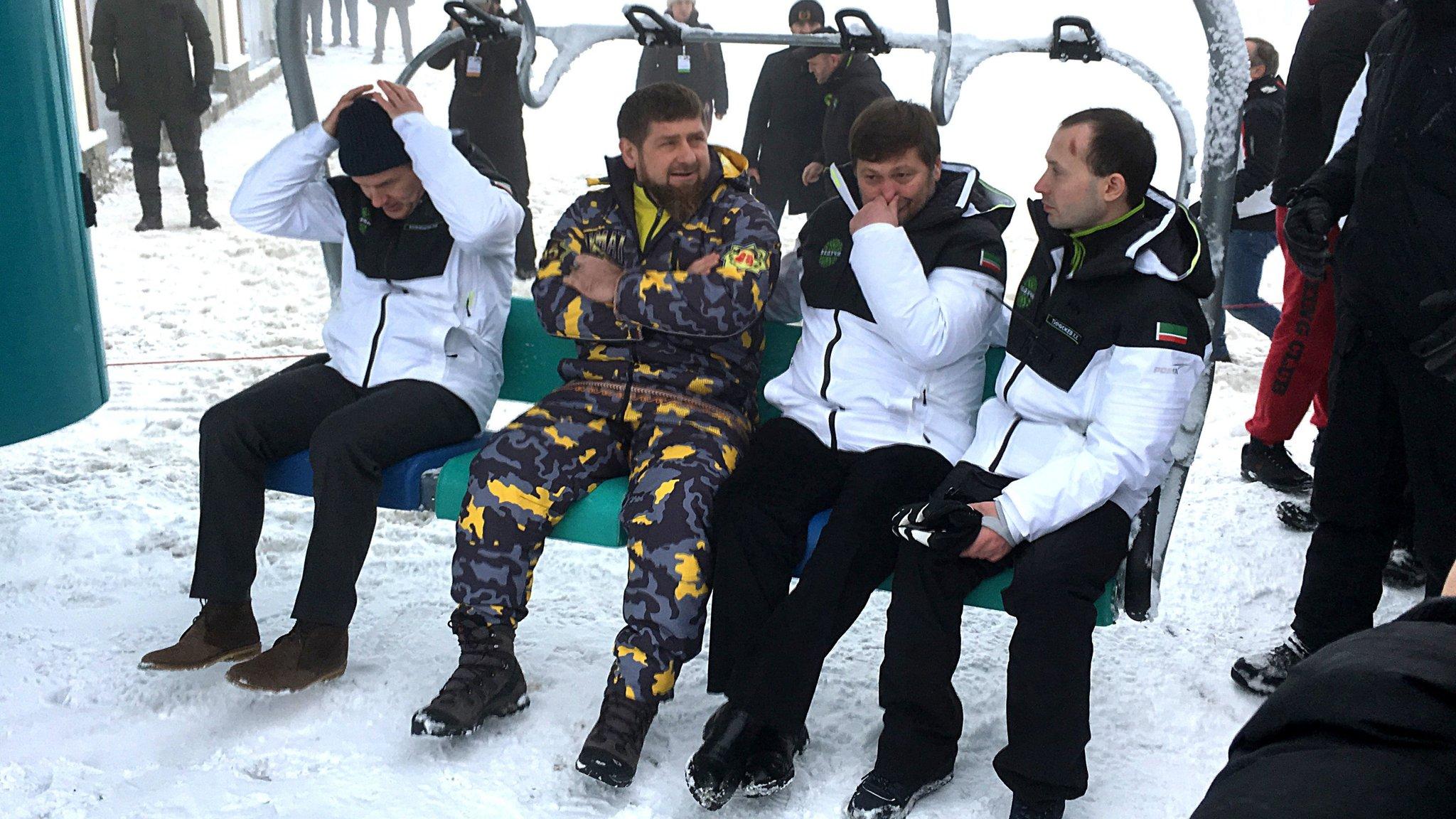 Chechnya woos tourists with glitzy new ski resort