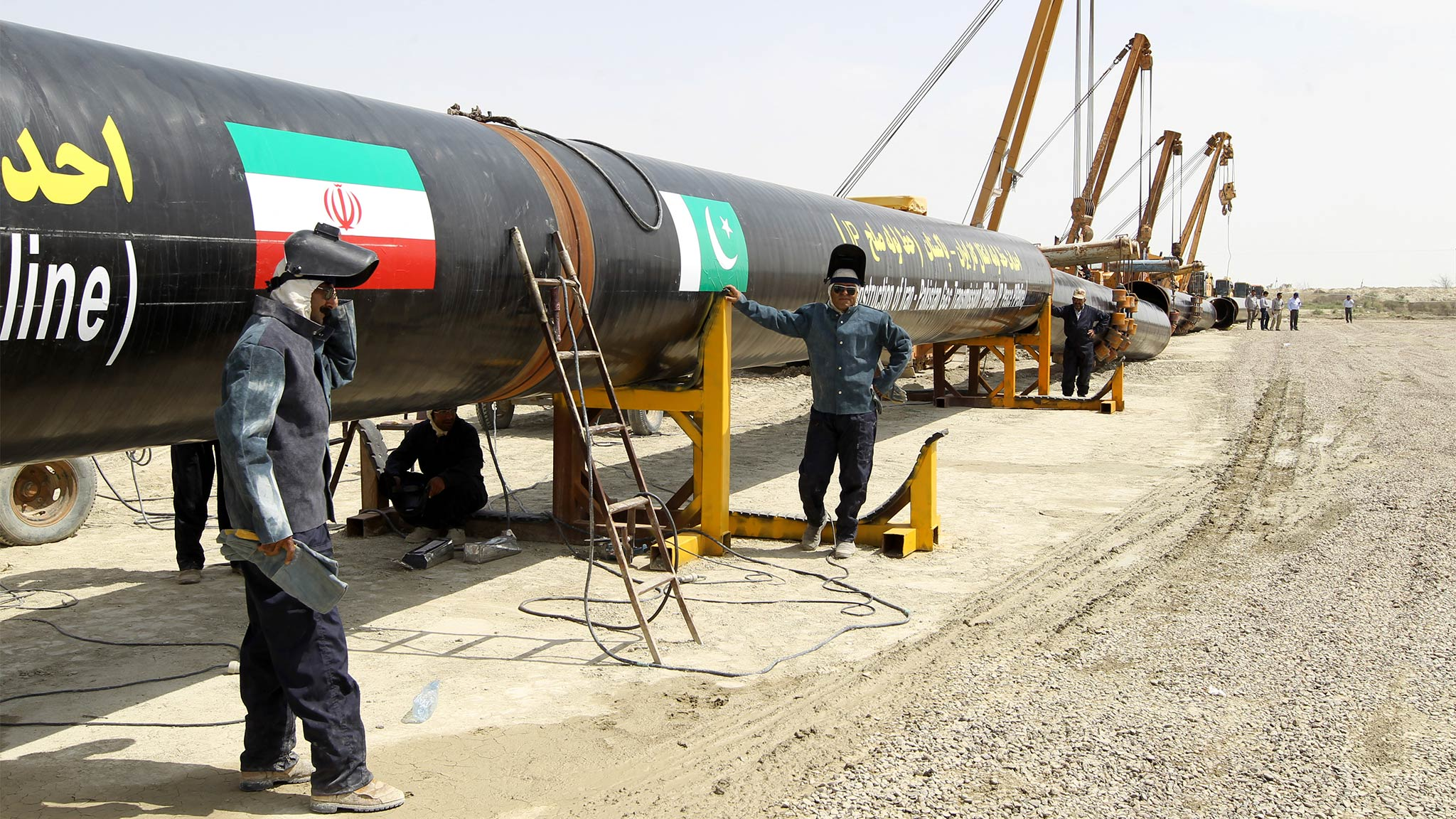 pakistan and iran gas pipeline