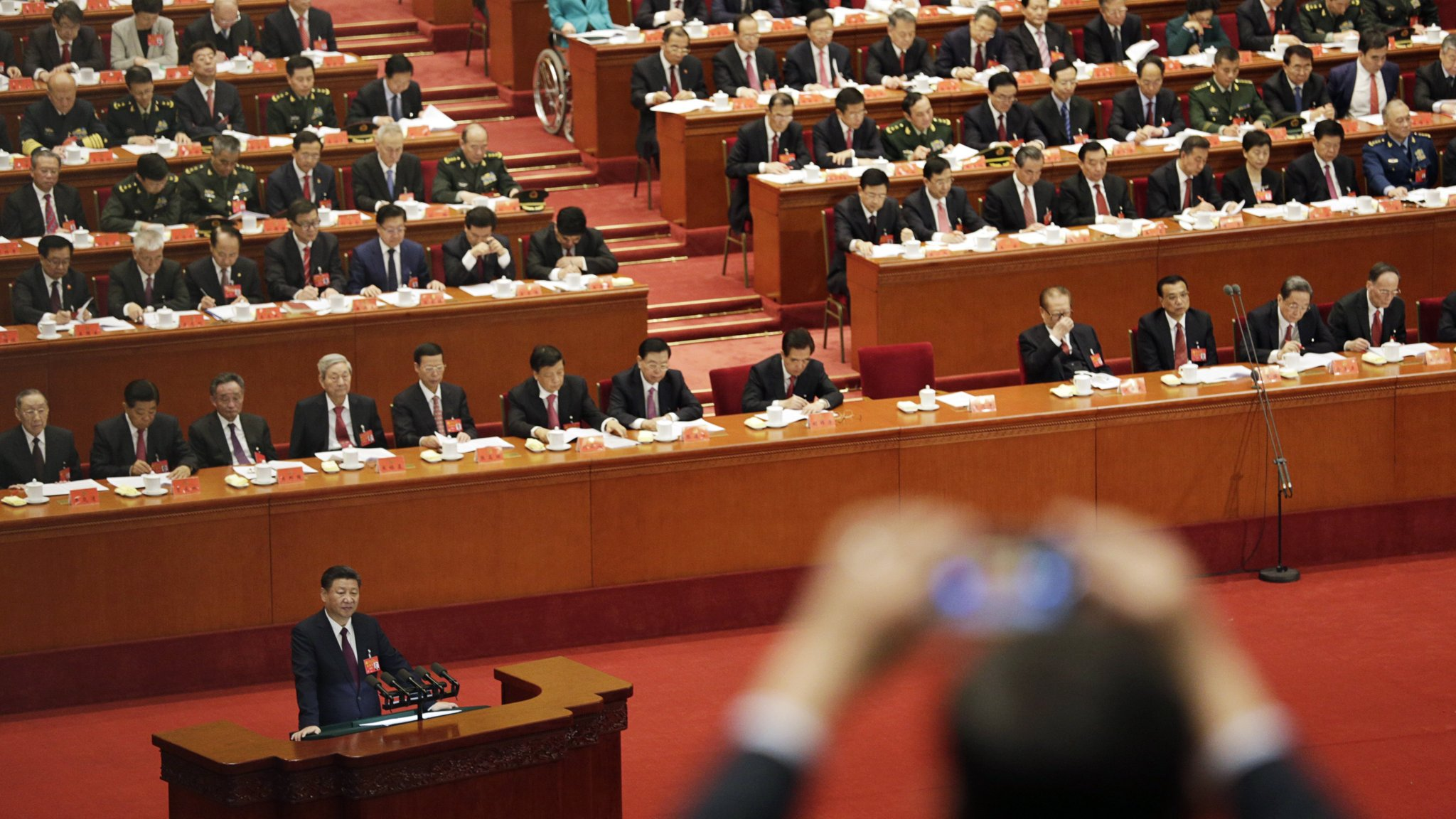 China to look at changing its constitution