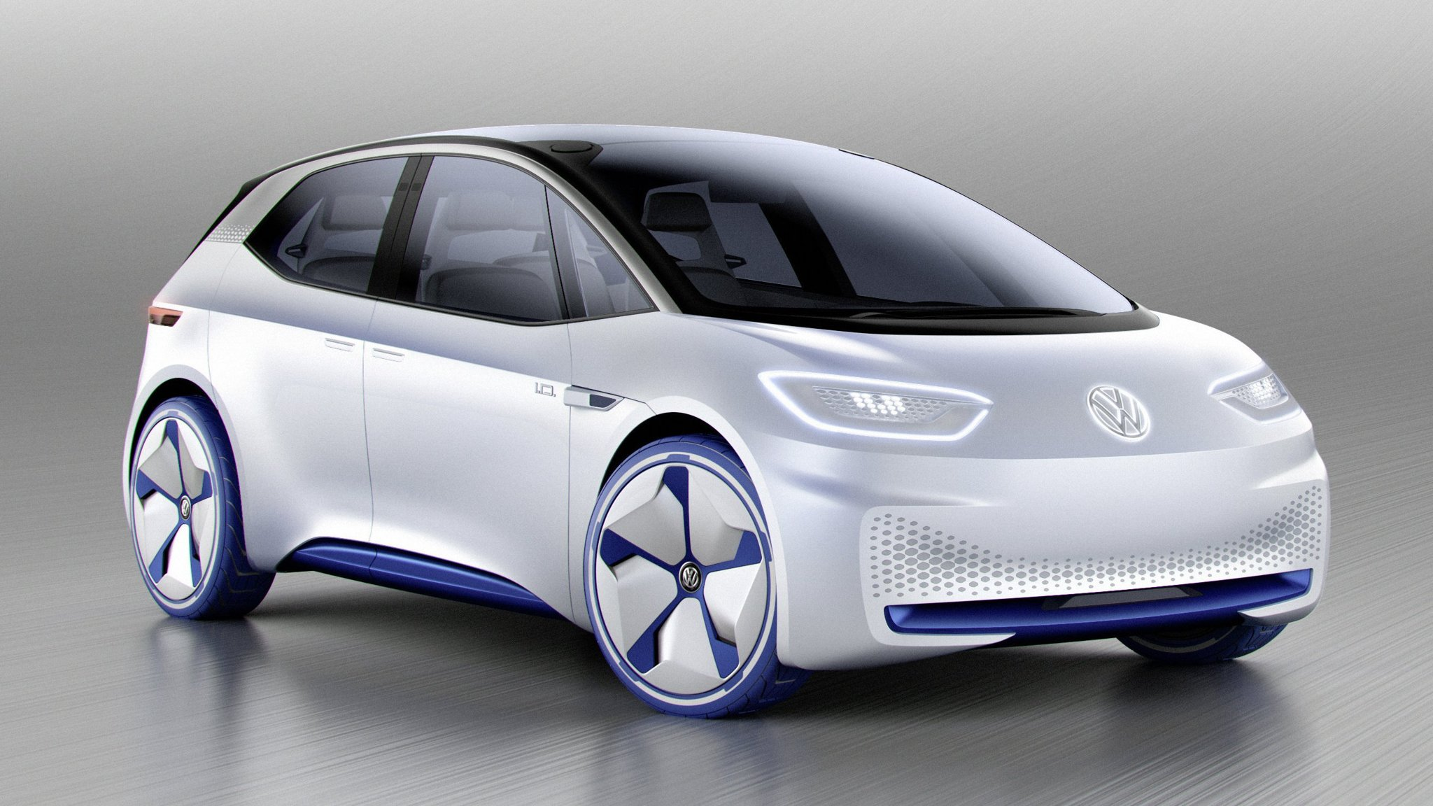 Volkswagen Unveils Its First Long Distance Electric Car