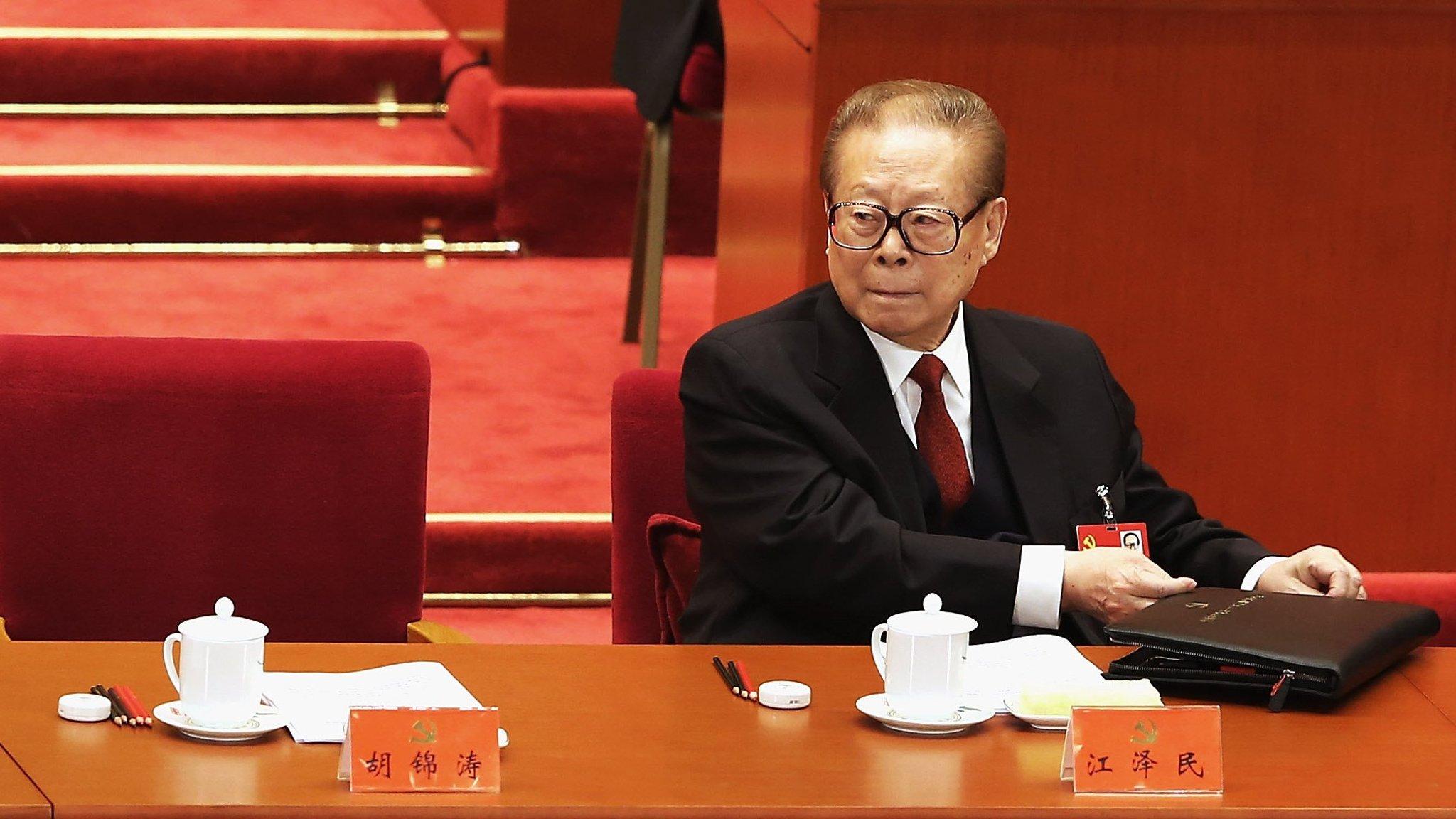 China cracks down on 'toadies' celebrating former president Jiang