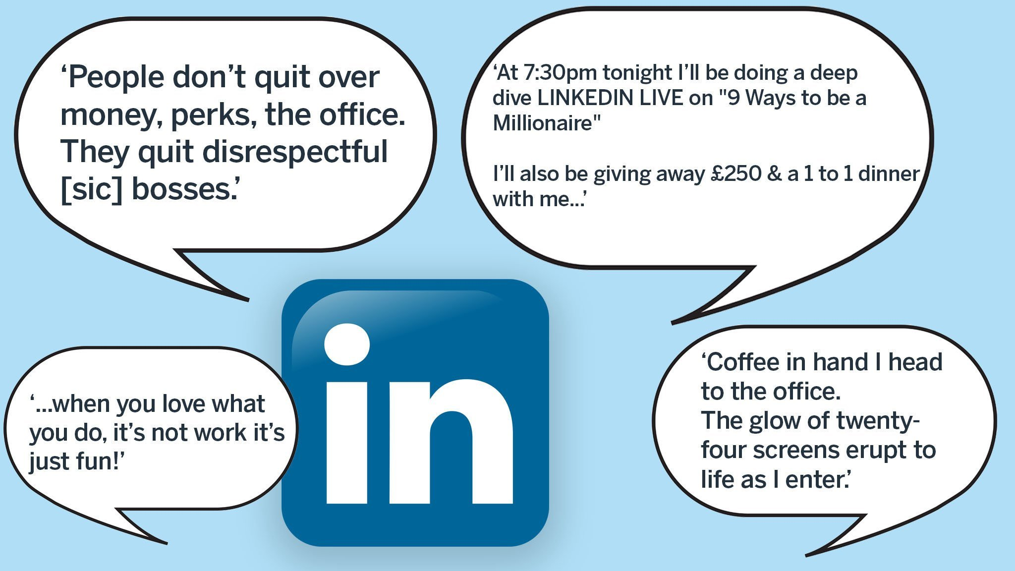 LinkedIn and the art of boastful self-promotion | Financial