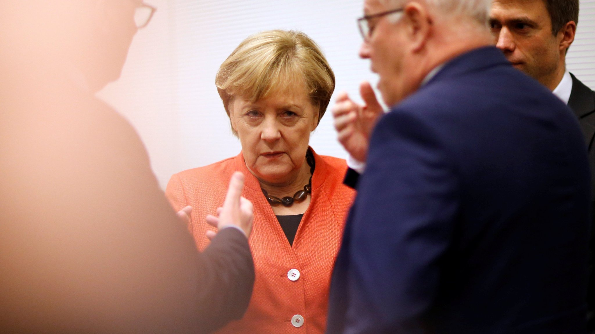 Merkel left searching for route out of crisis