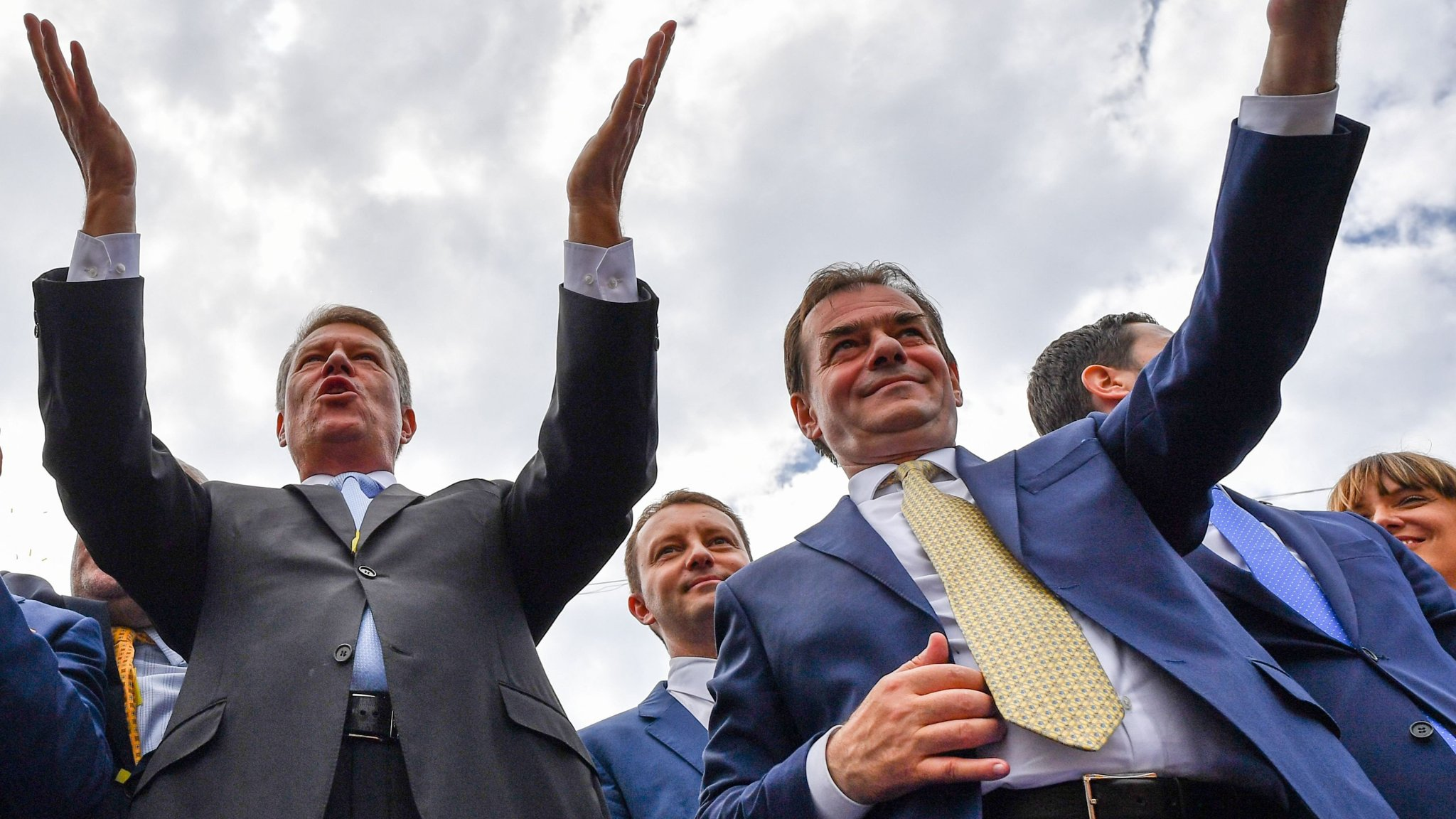 Romania's leadership duo pledge pro-EU era but challenges loom