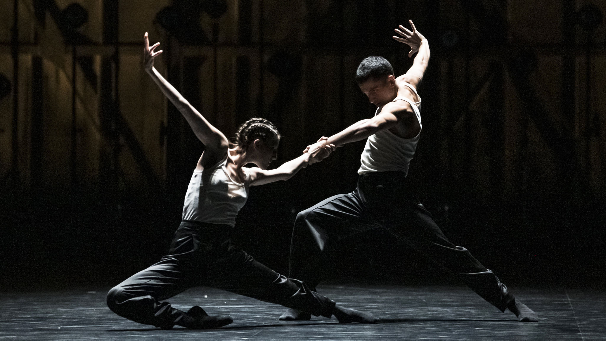Crystal Pite's ambitious new work is premiered at the Palais Garnier, Paris