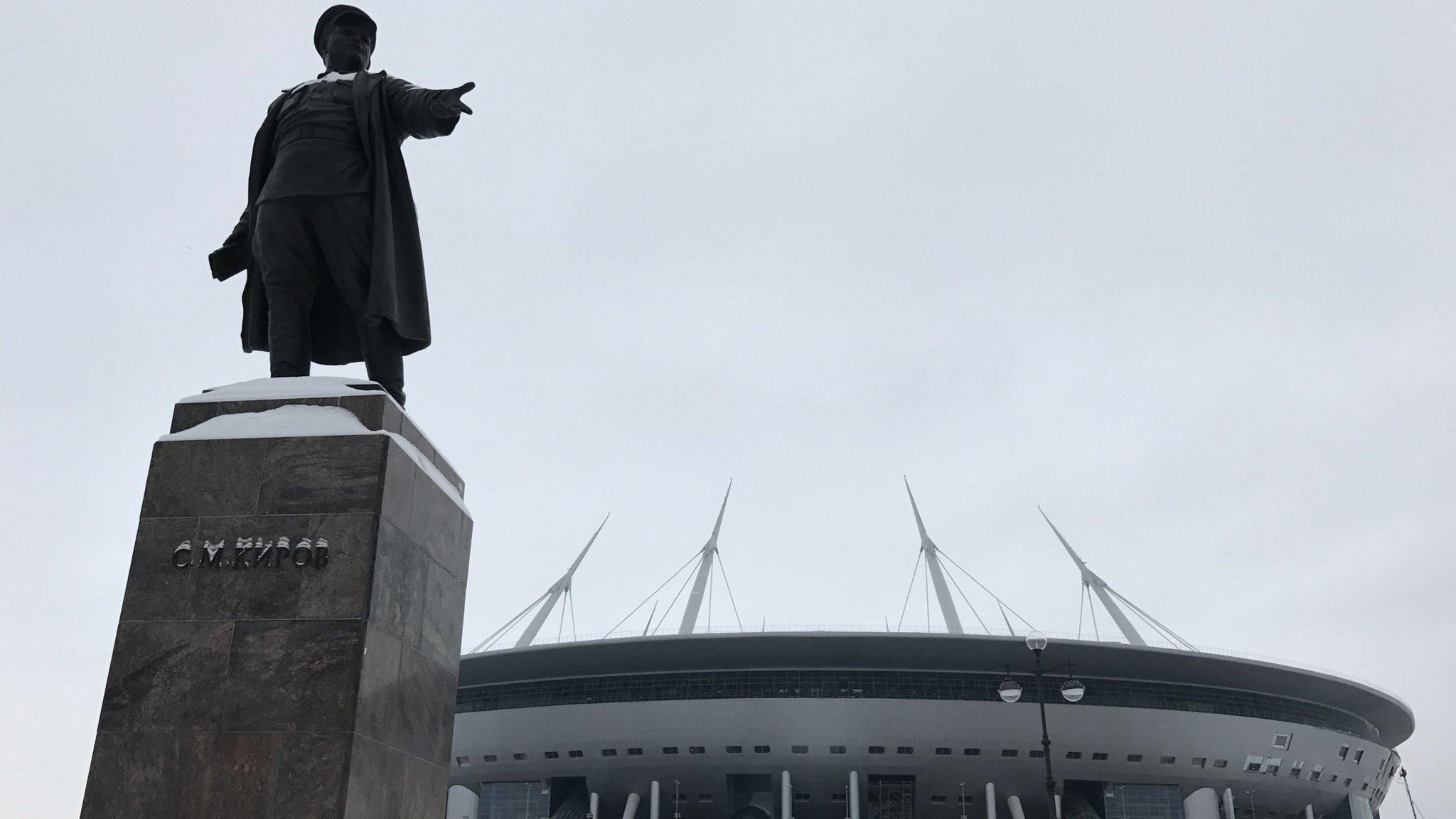 In St. Petersburg, held an improvised referendum on Isaac