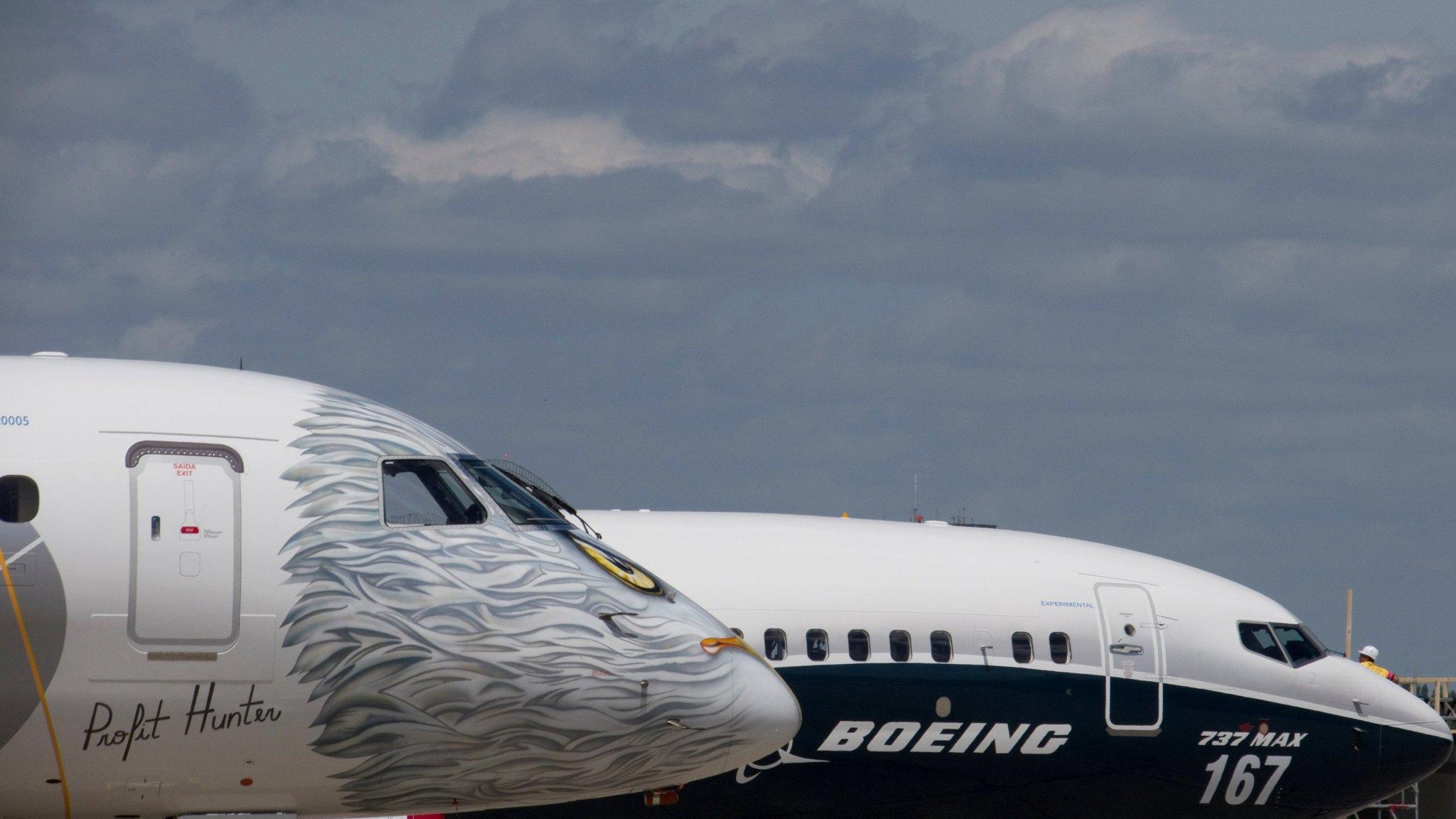 Resultado de imagen para perspective Boeing-Embraer