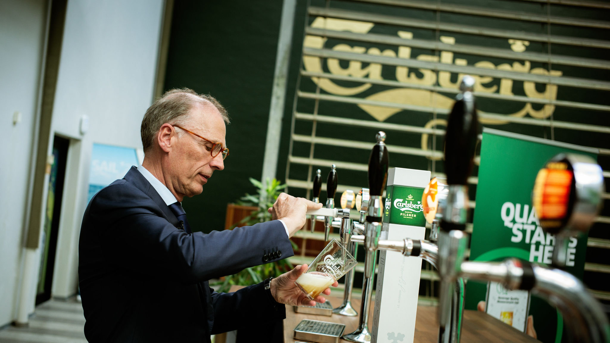 Carlsberg cheers investors as it raises profit guidance
