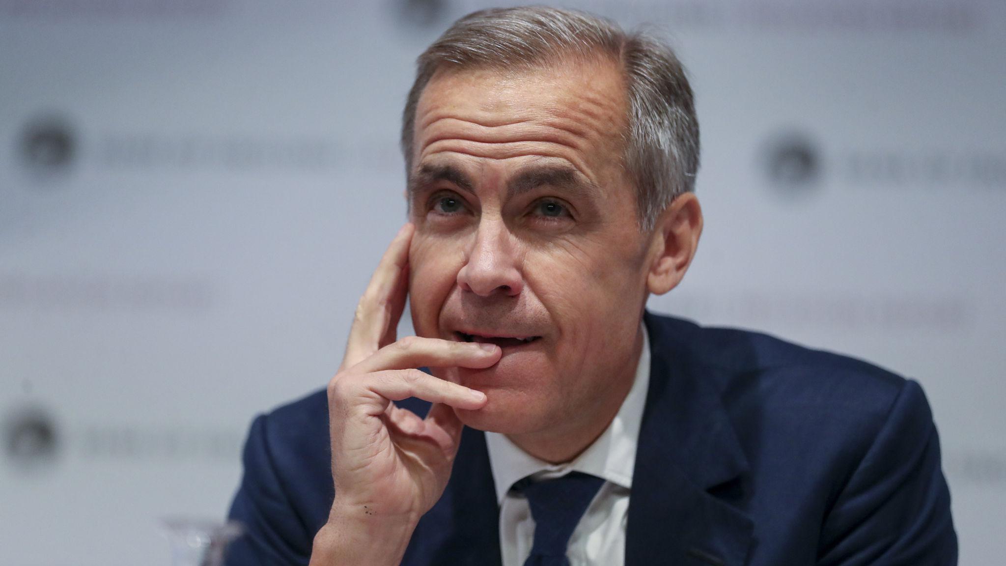 Carney warns against publishing shortlist for next BoE governor