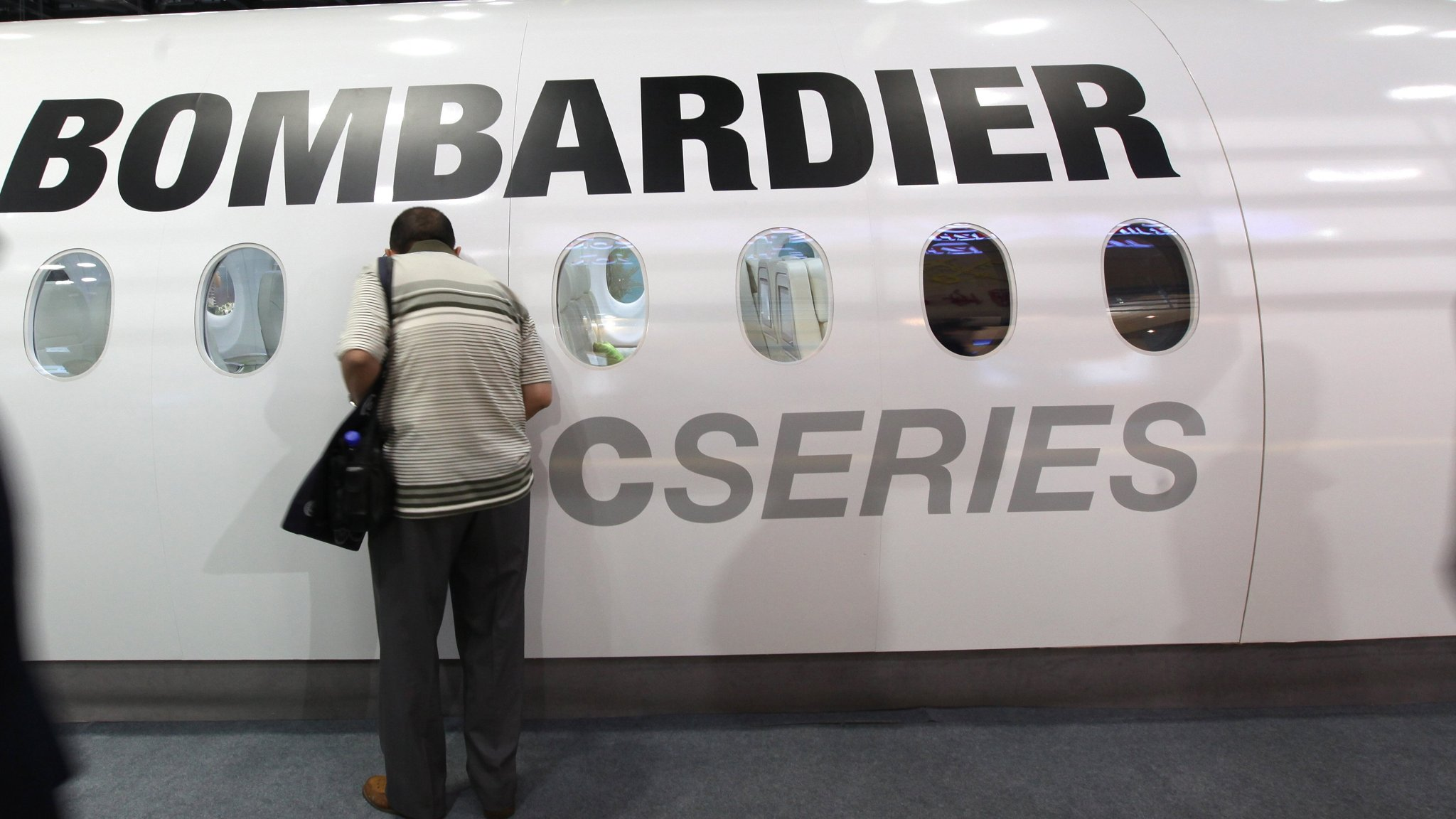 Brussels vows to fight US in Bombardier tariff row
