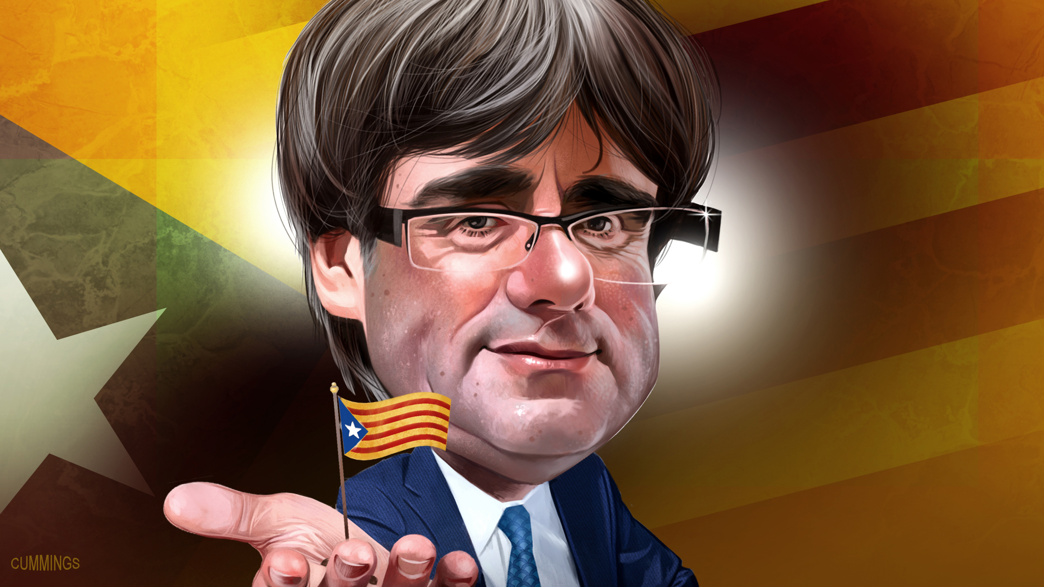 Carles Puigdemont Catalonia S Breakaway Leader