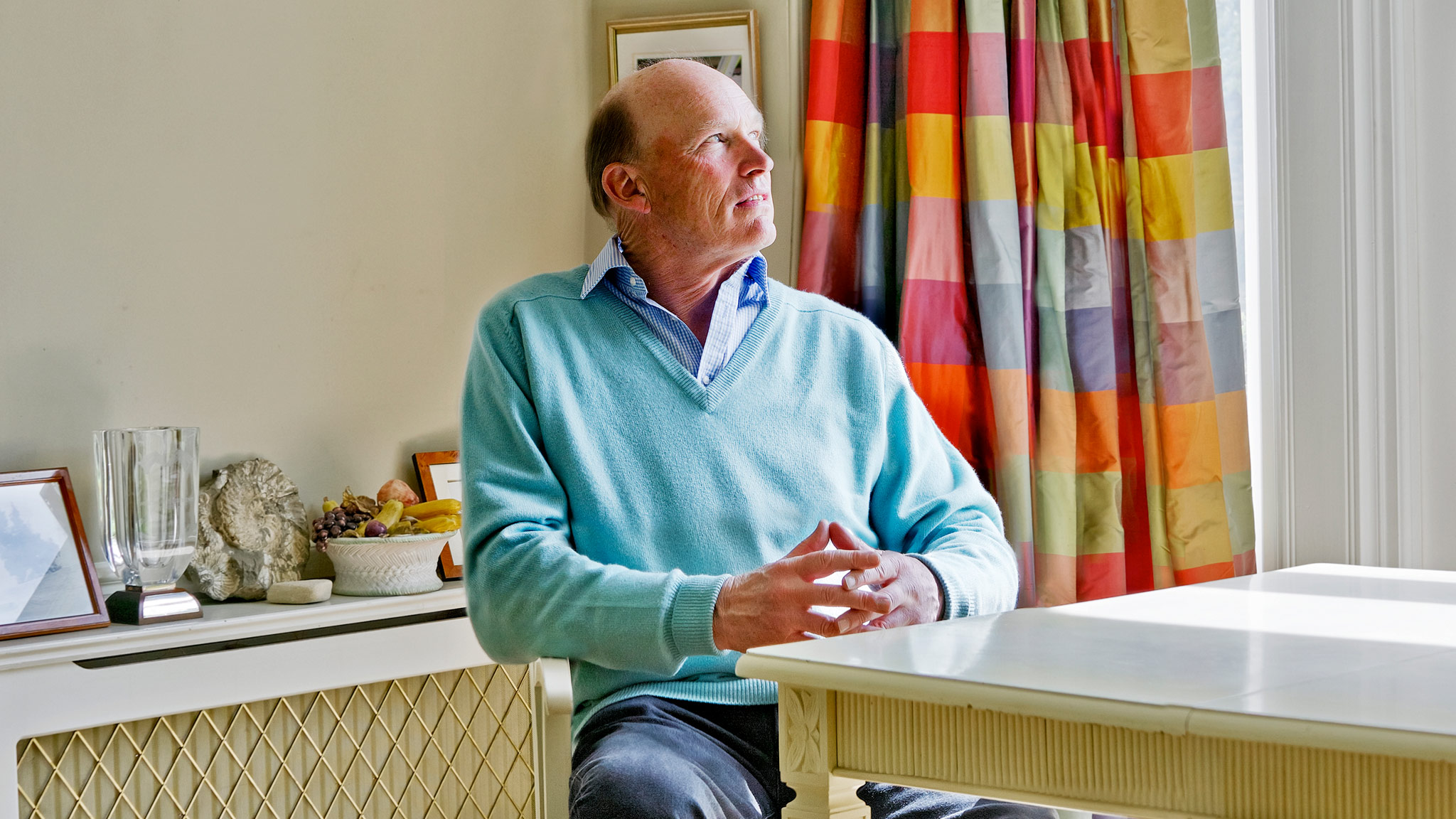At home: Racehorse trainer John Gosden in Newmarket   Financial Times