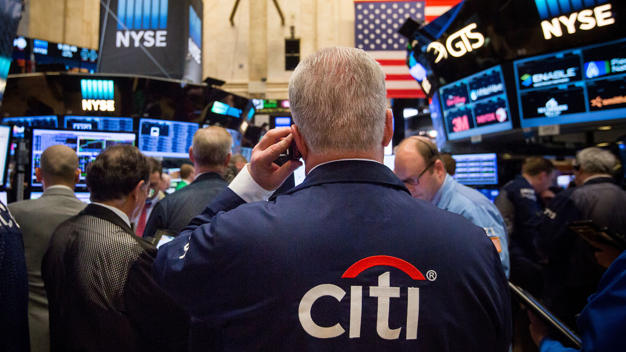 Nervous investors to check for rates squeeze on US bank