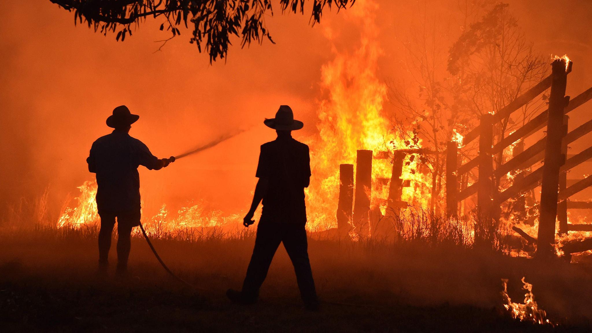 Deadly Australian fires ignite bitter battle over climate change