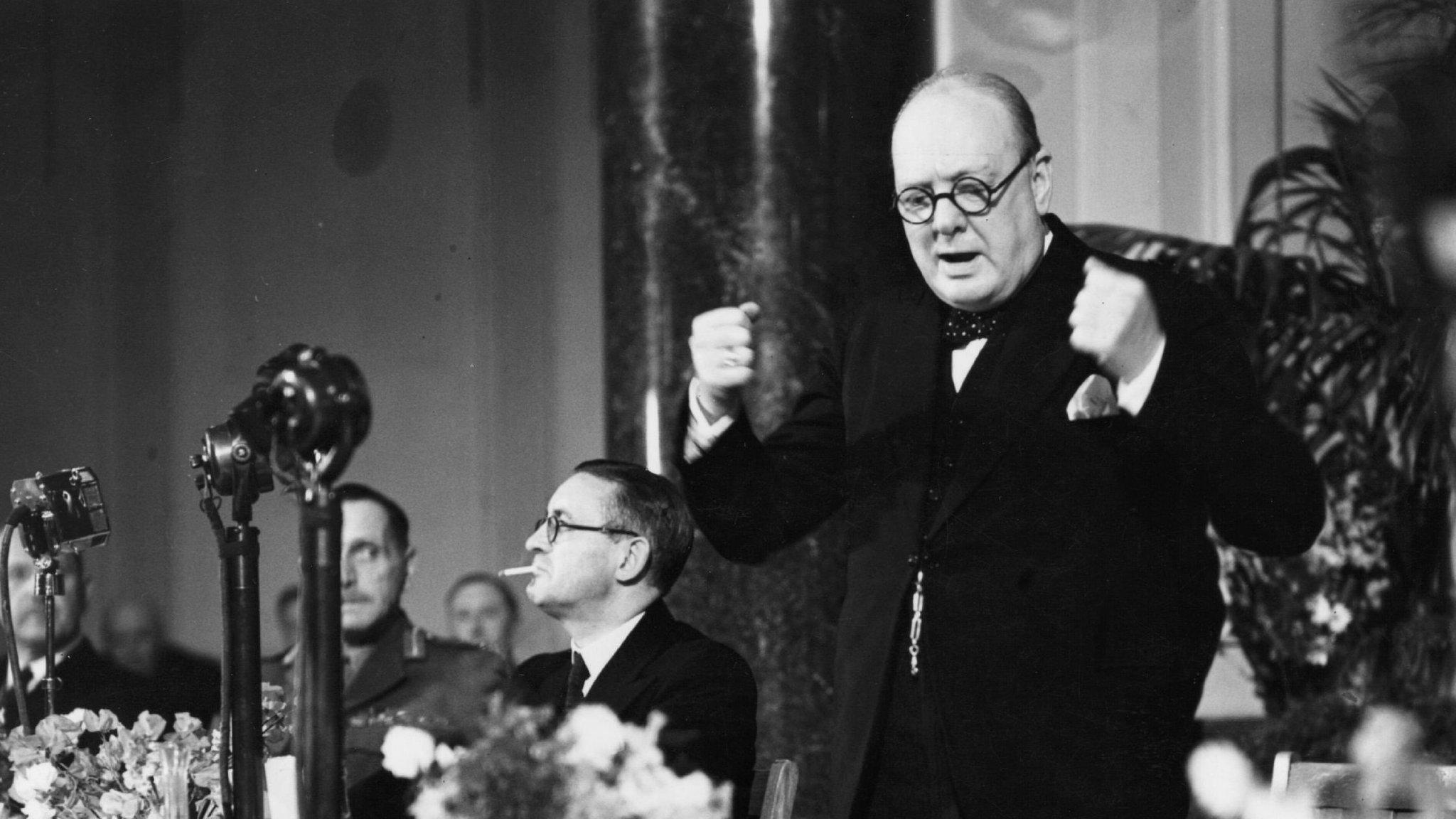 Historic misunderstanding underlies UK-EU relationship on Churchill  anniversary | Financial Times
