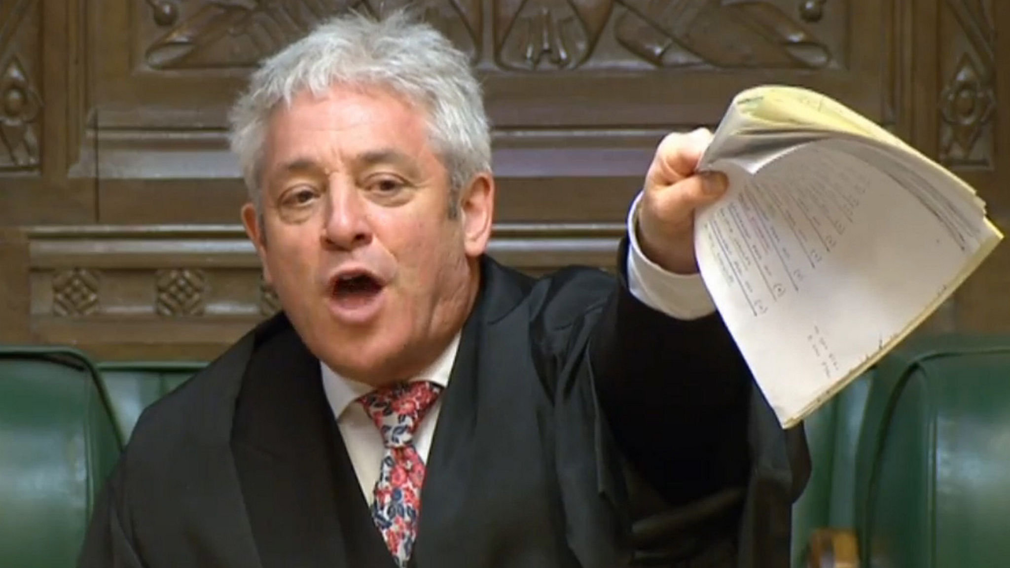 How Brexit is being shaped by parliamentary referee John Bercow