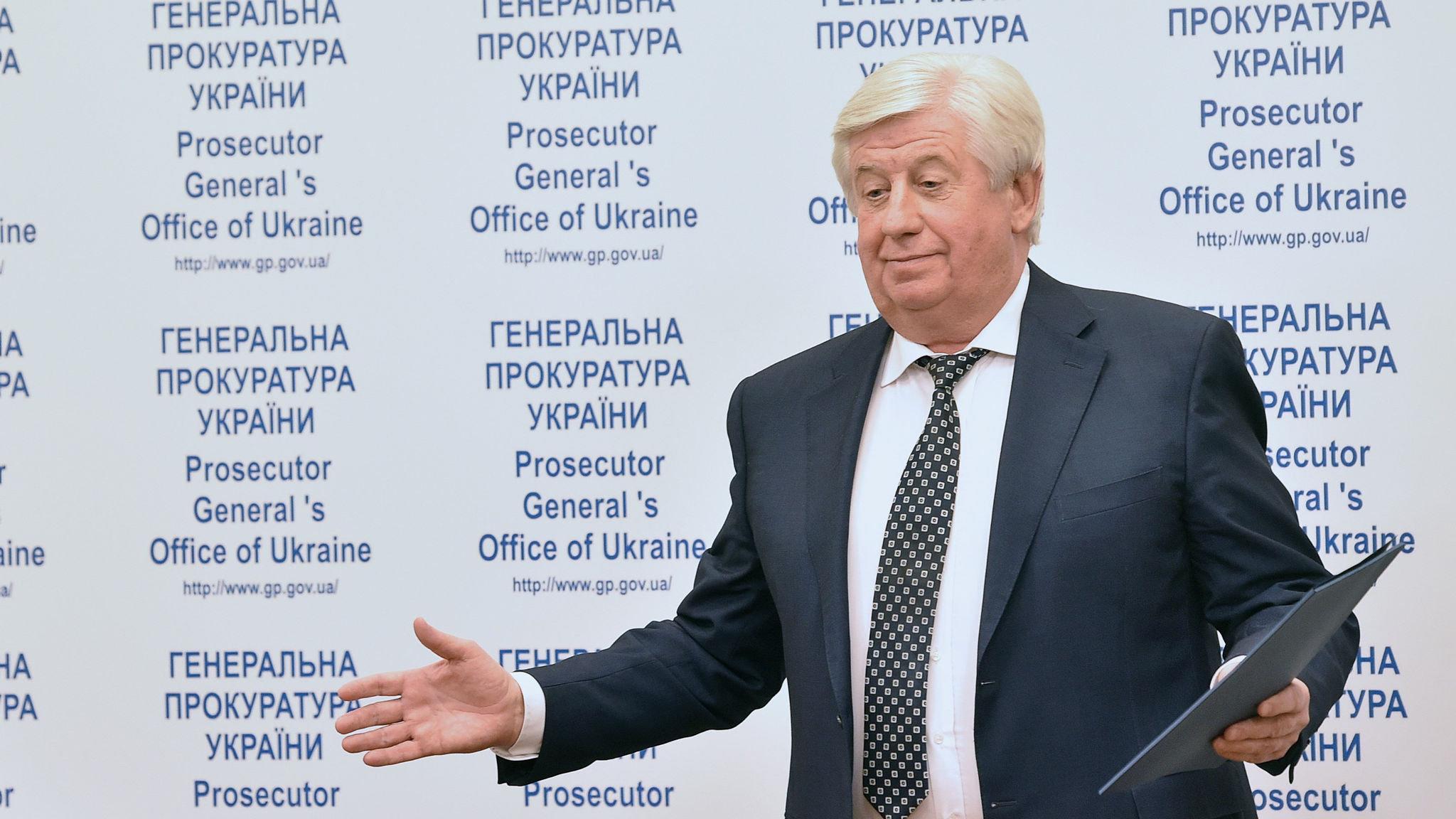 Envoys pushed to oust Ukraine prosecutor before Biden