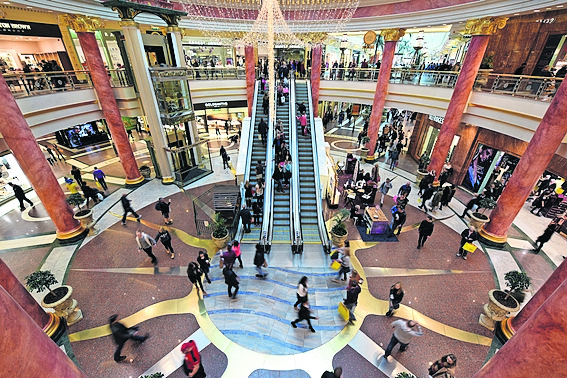 Trafford Centre owner Intu hit by £1 4bn plunge in property
