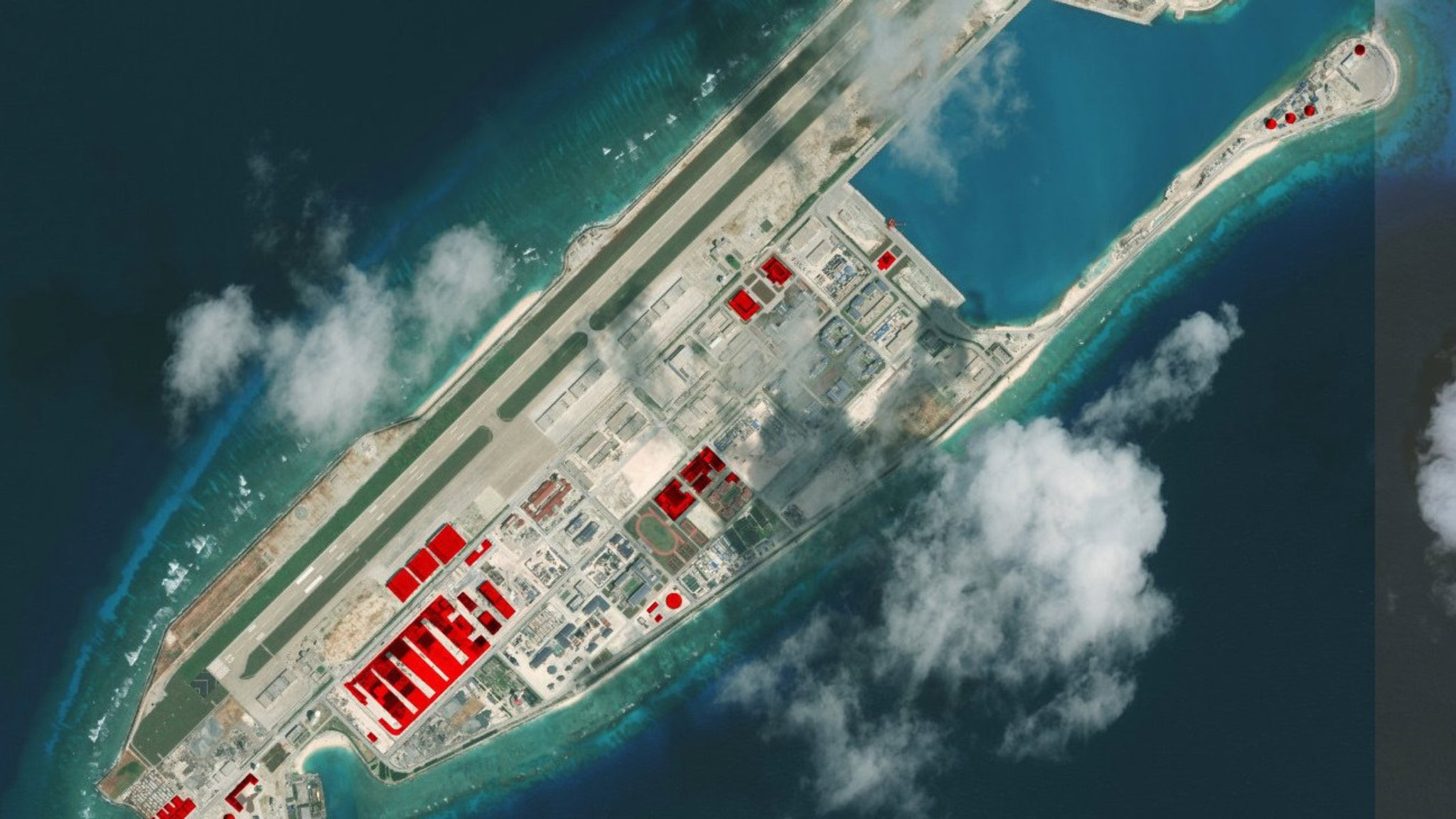 Beijing bolsters its islands in the South China Sea