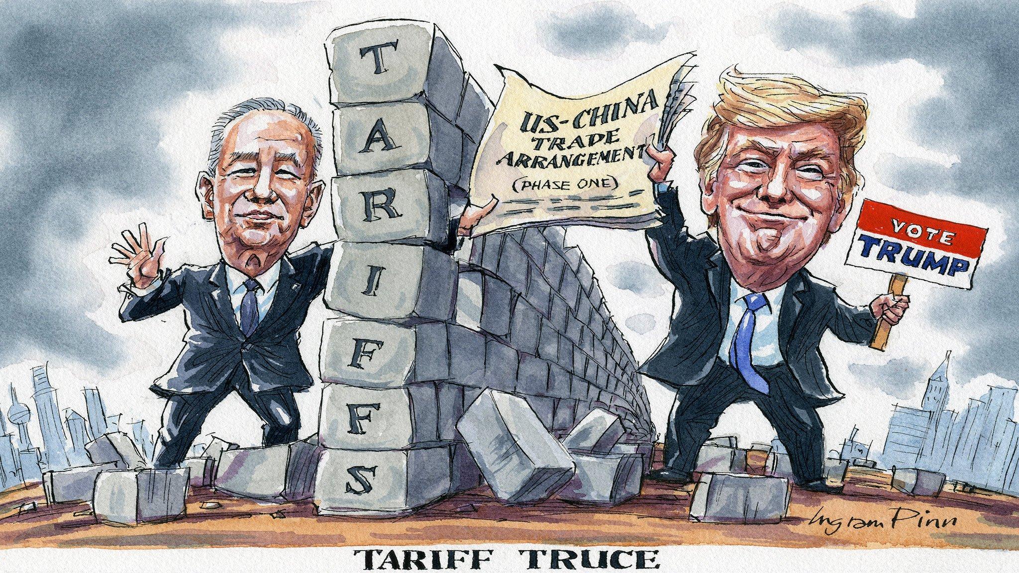 Ingram Pinn's illustration of the week: Tariff truce