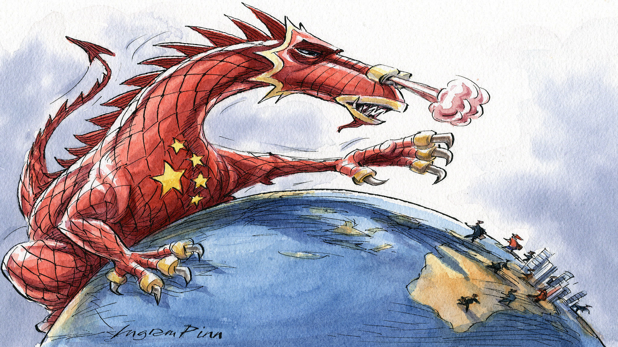 China is taking its ideological fight abroad