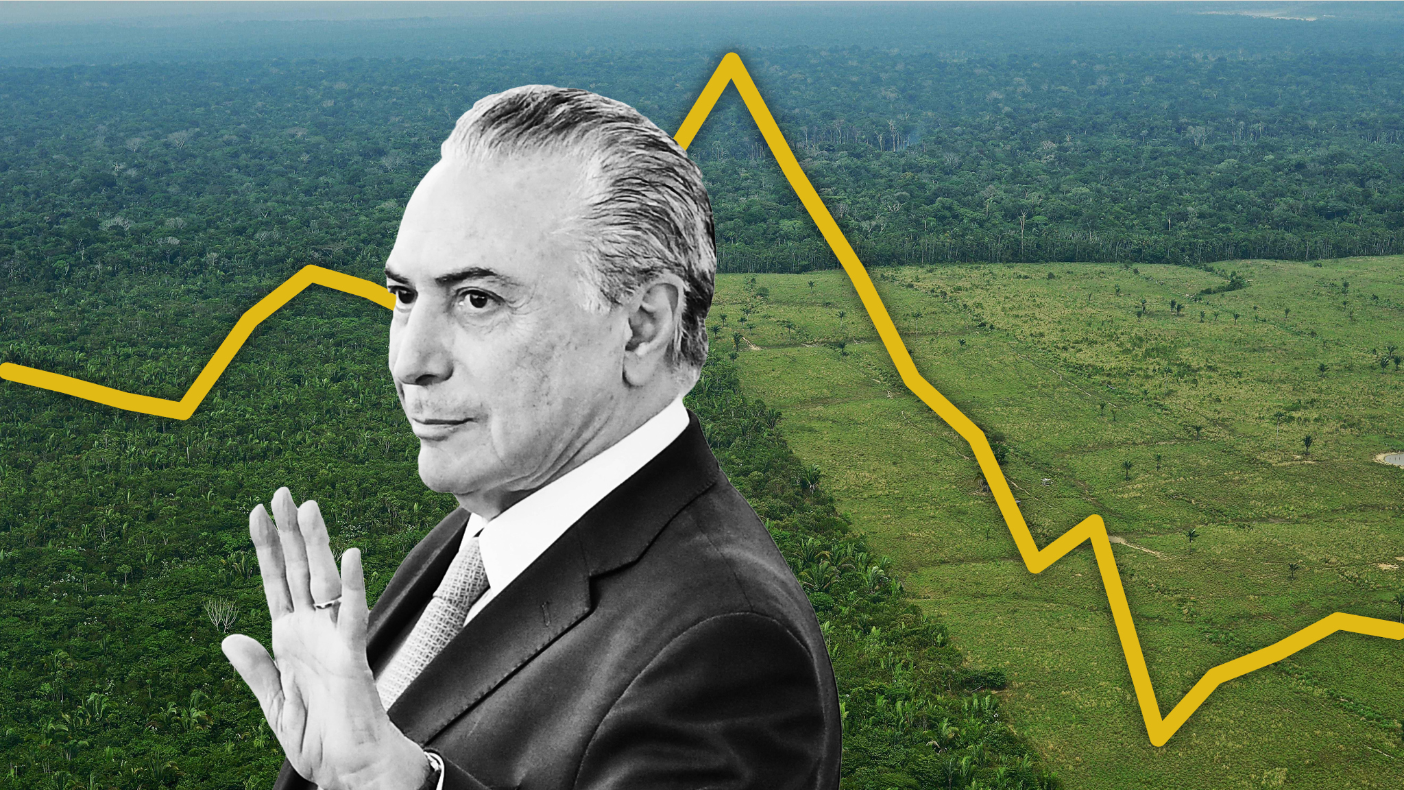 Brazil: Rainforest pays the price for the country's crisis