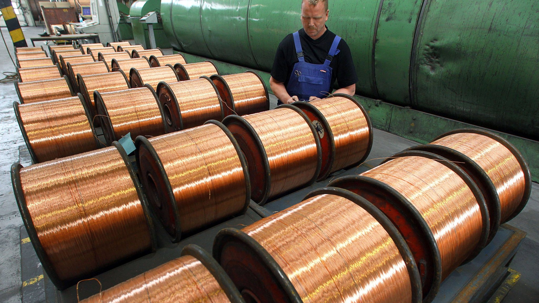 Copper prices climb to highest level in 4 years