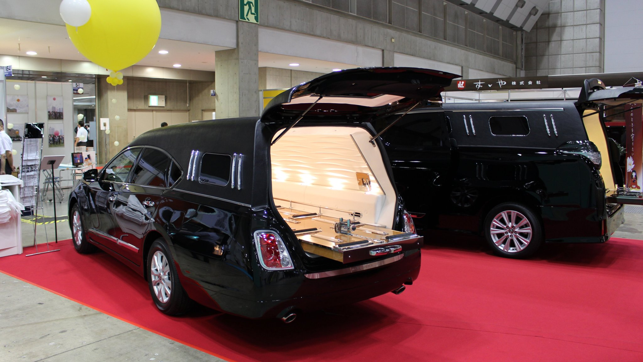 Japan's shrinking funeral market drives hearse makers