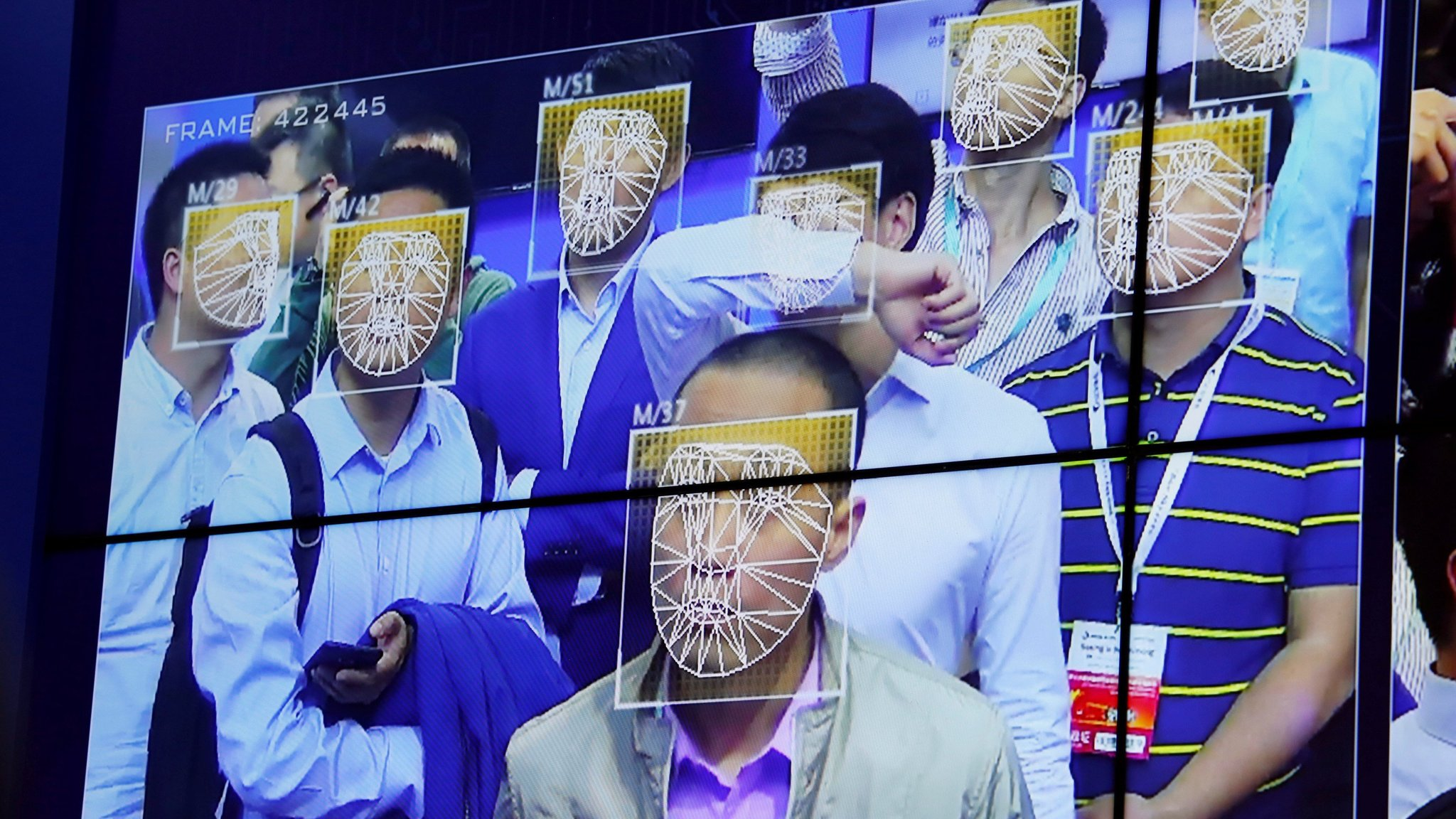 China's facial recognition start-ups gain edge over rivals