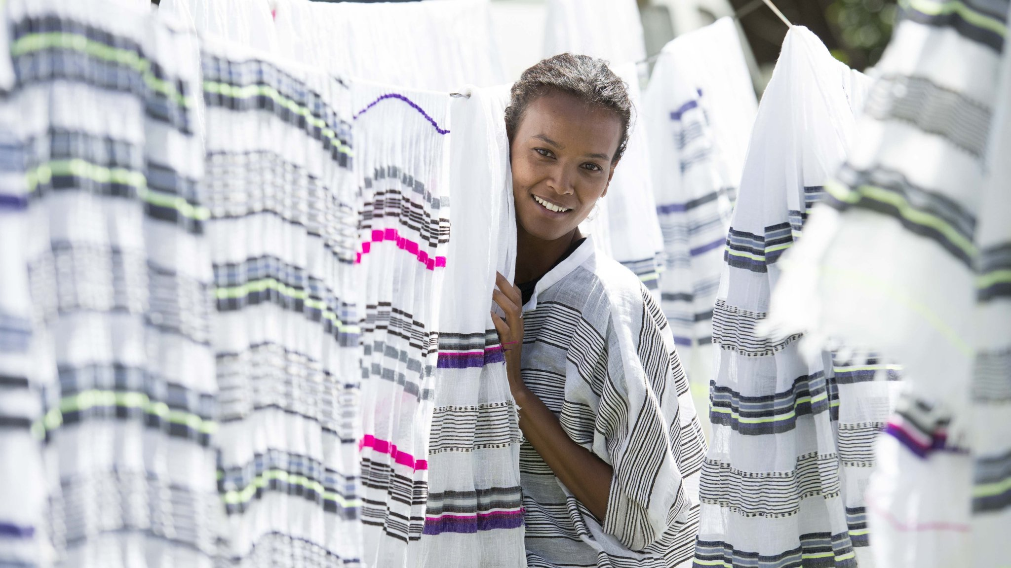 Liya Kebede S Brand Lemlem Offers Ethiopian Craftsmanship That Sells Financial Times