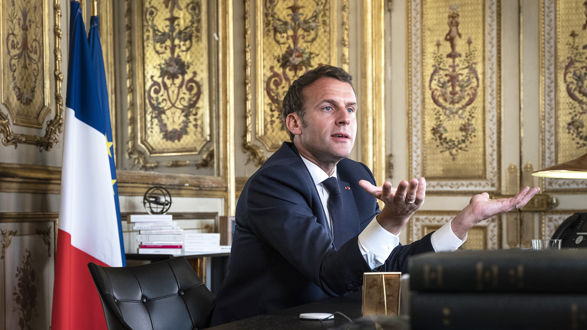 Ft Interview Emmanuel Macron Says It Is Time To Think The Unthinkable Financial Times