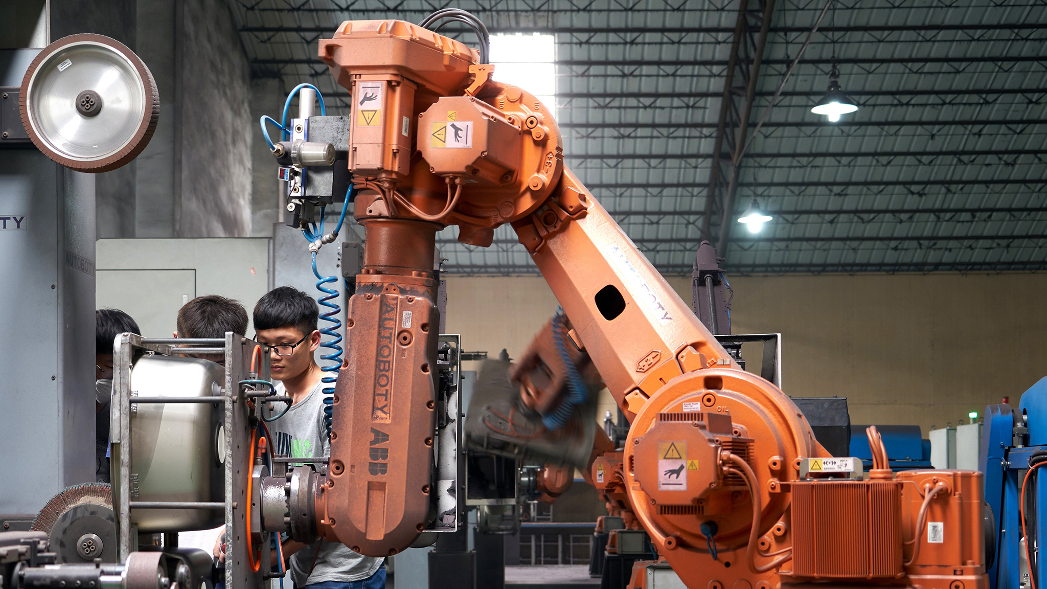 Chinas Robot Revolution Financial Times Contract Manufacturing Services Asia Pacific Circuits Co
