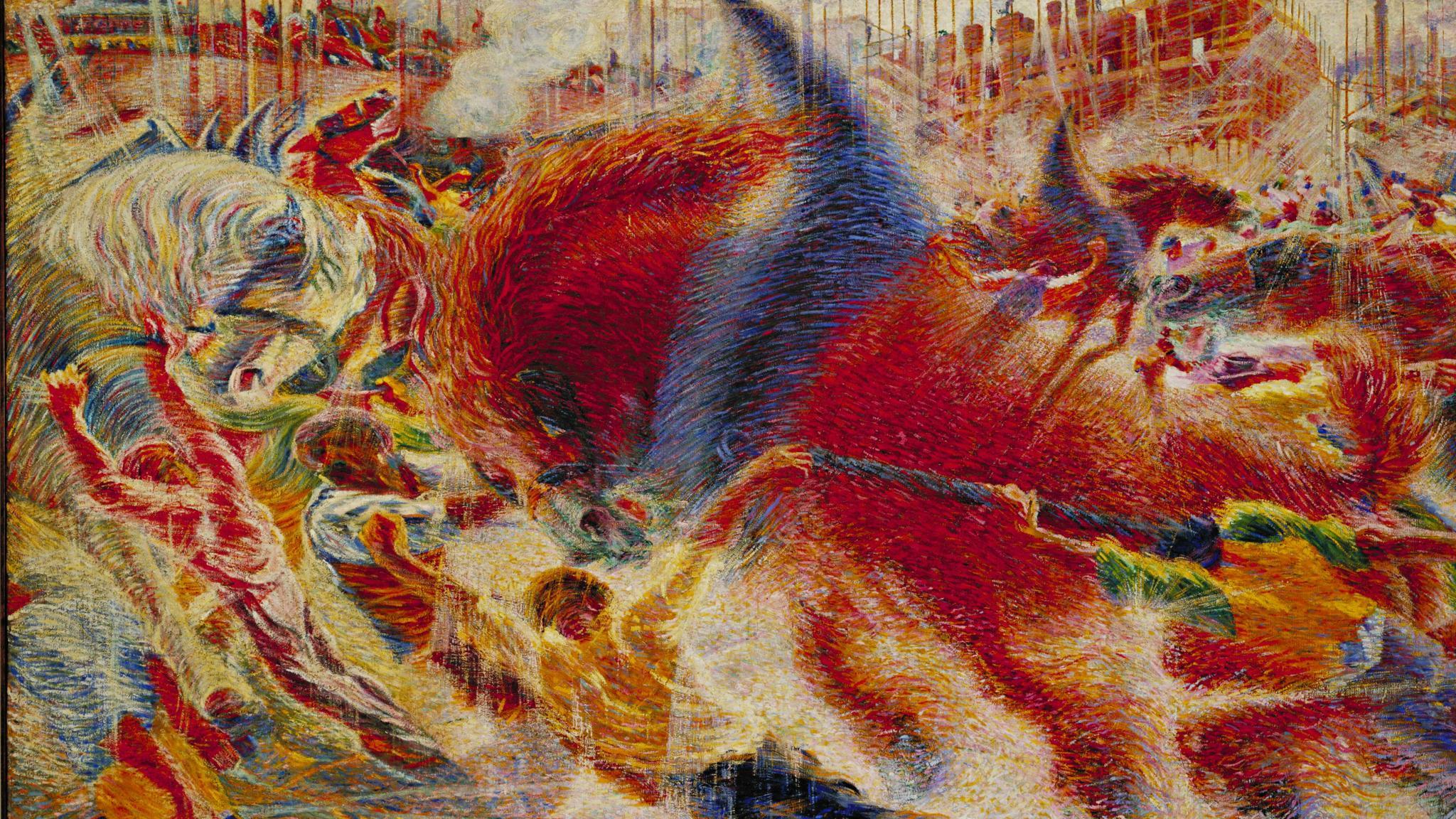 Italian Futurism 1909 1944 Reconstructing The Universe Guggenheim