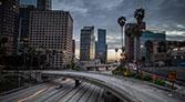 The 110 Freeway in LA