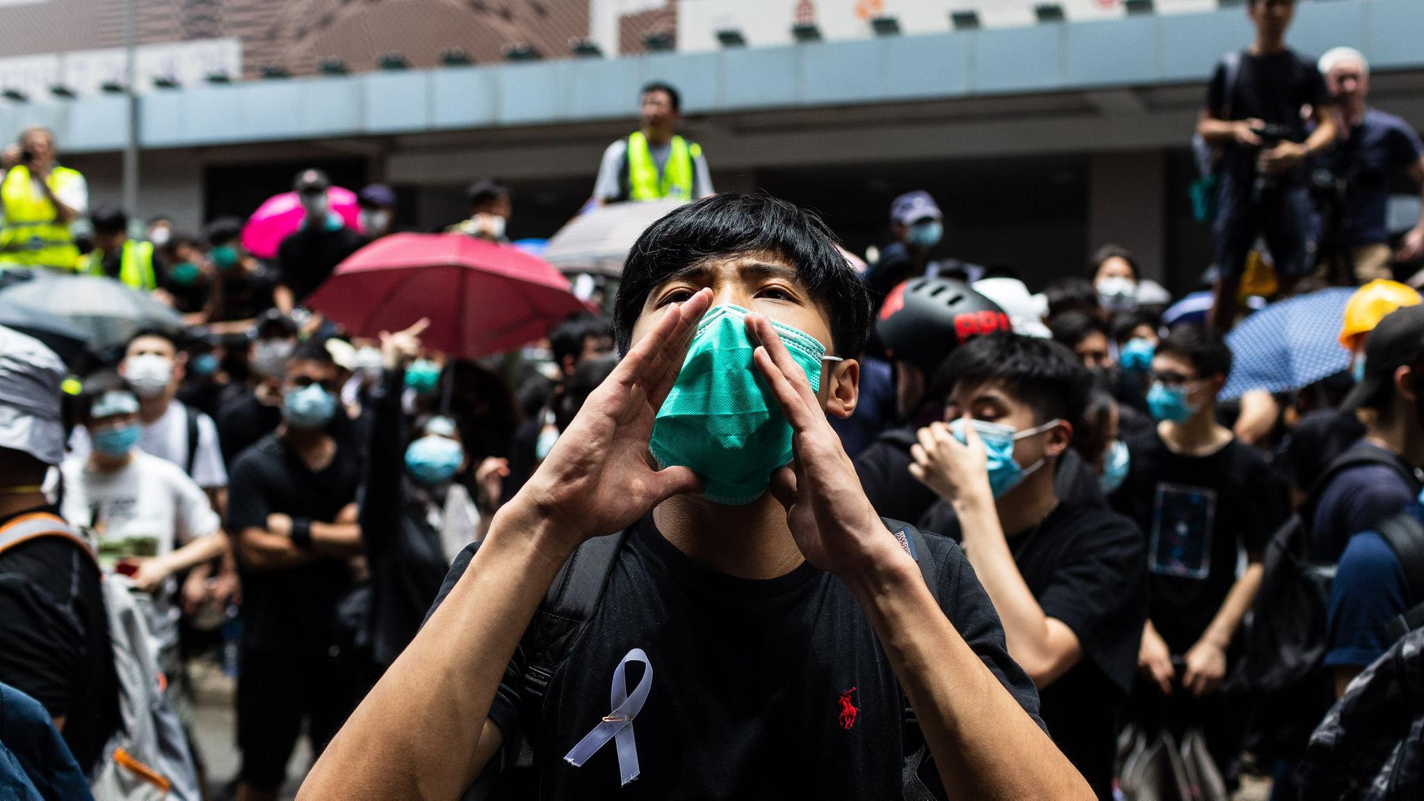 Technology aids unity of Hong Kong movement | Financial Times
