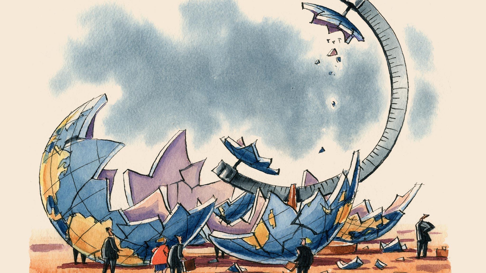 Recuo da globalização pode causar próximo colapso das bolsas