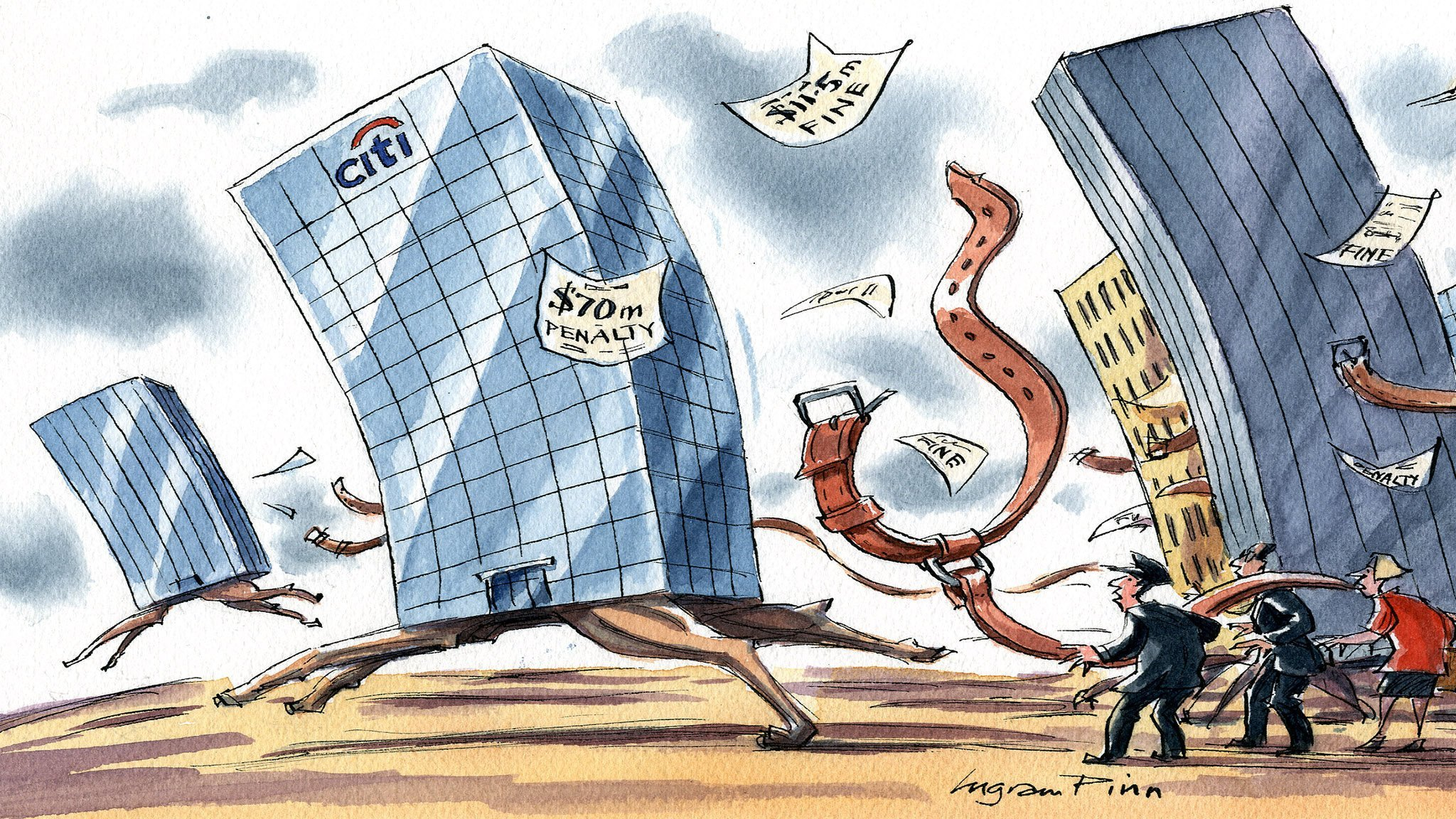 Citi's travails come at a critical time for the banking industry