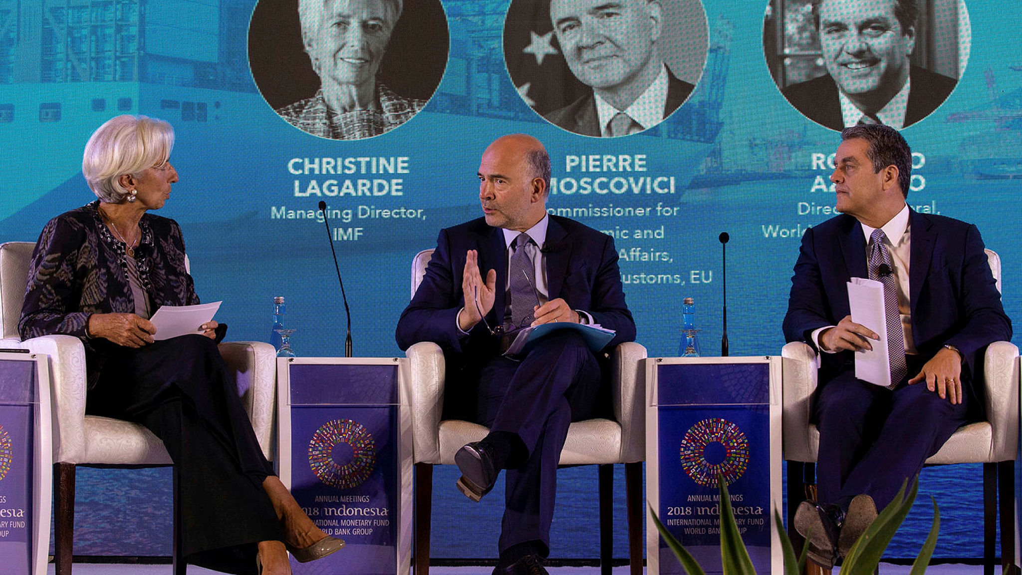 IMF, WTO warn against the effects of trade disputes