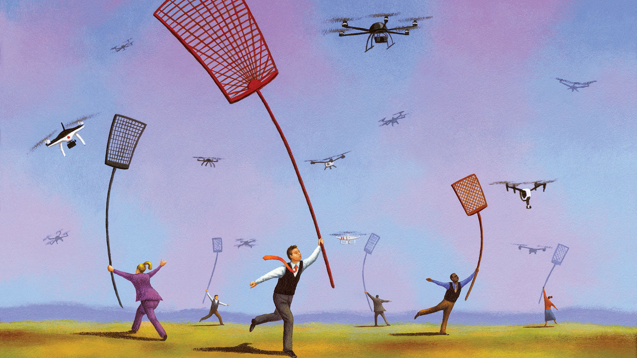 How to stop a drone flying over your home — and the rules on
