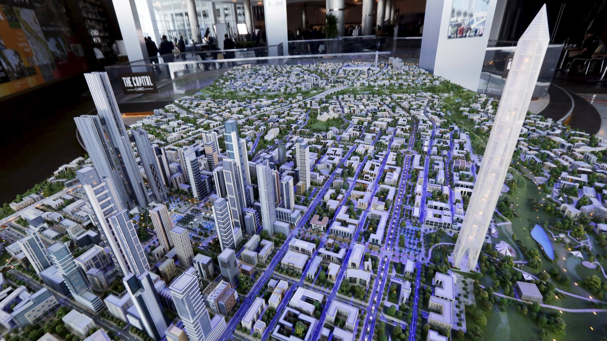 Smart City Challenge >> Egypt's president sets sights on megacity to rival Cairo