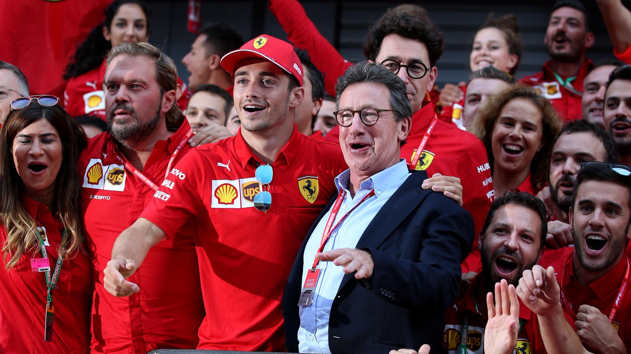 Camilleri has 'serene' plans to revive Ferrari's Formula One fortunes