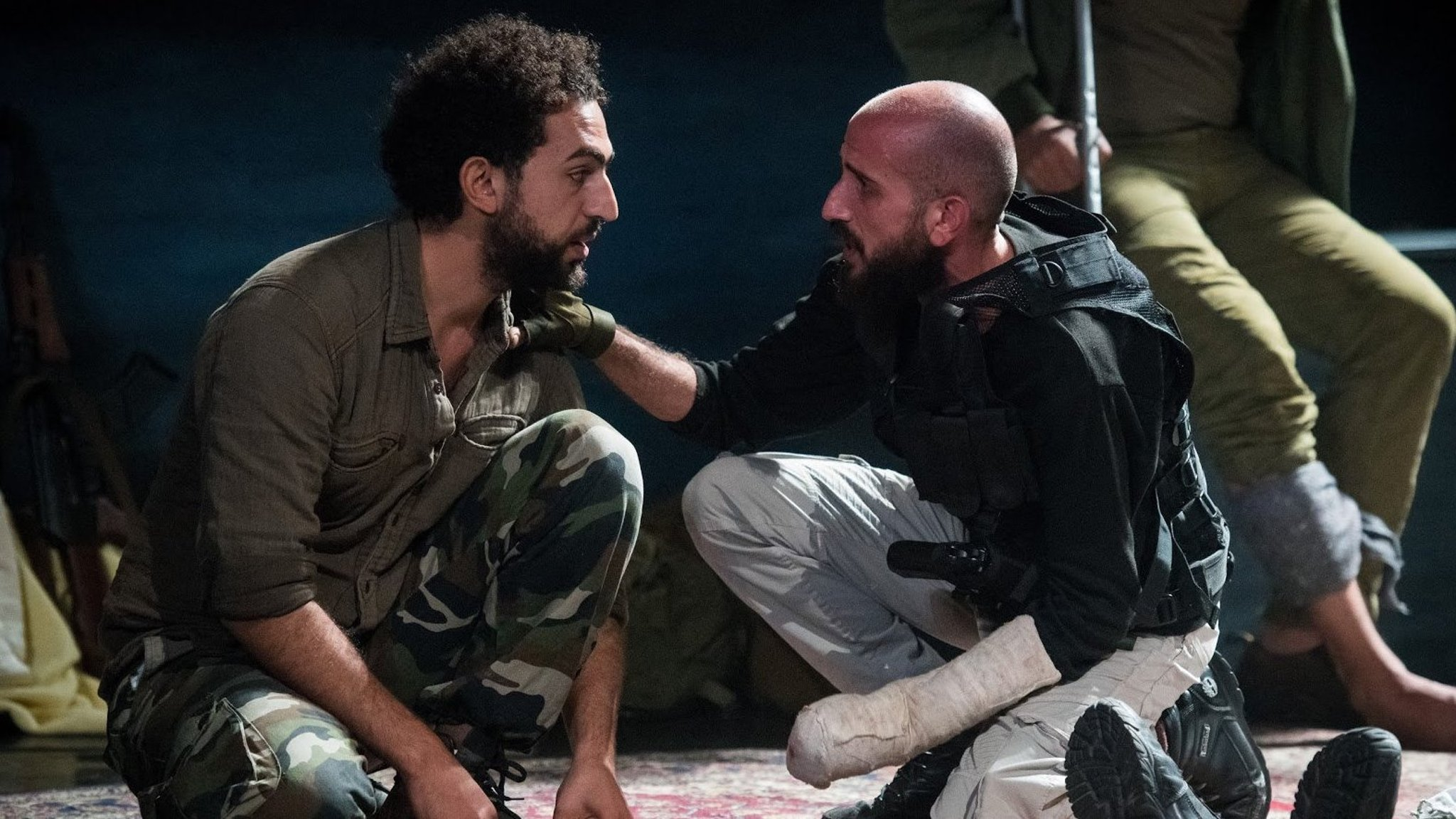 The Siege — a work of raw theatrical power about Palestinian combatants