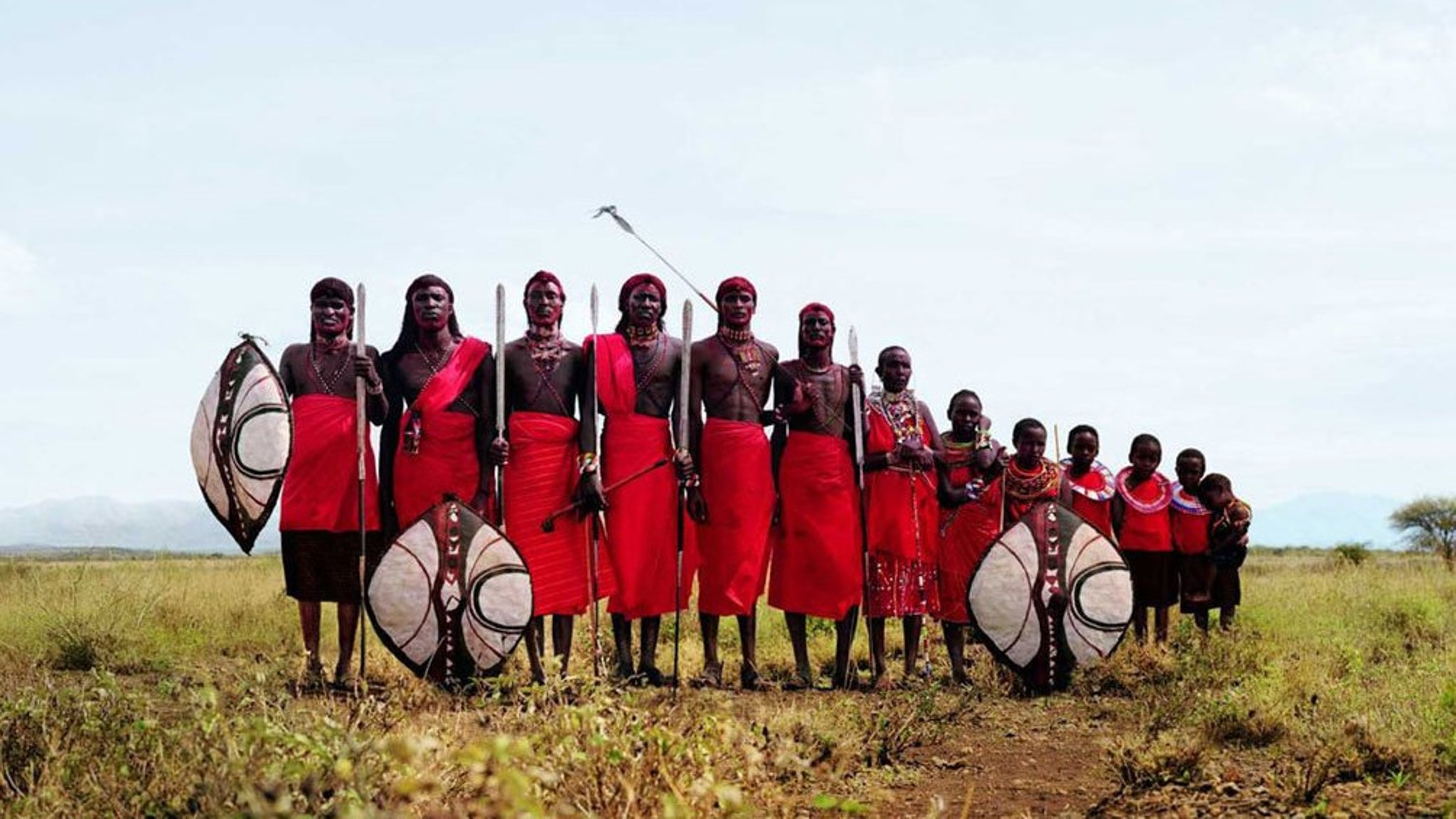 Maasai warriors fight to protect their 'brand'