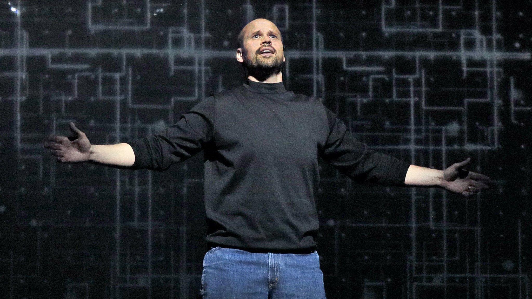 The (R)evolution of Steve Jobs, Santa Fe Opera, New Mexico — high-powered