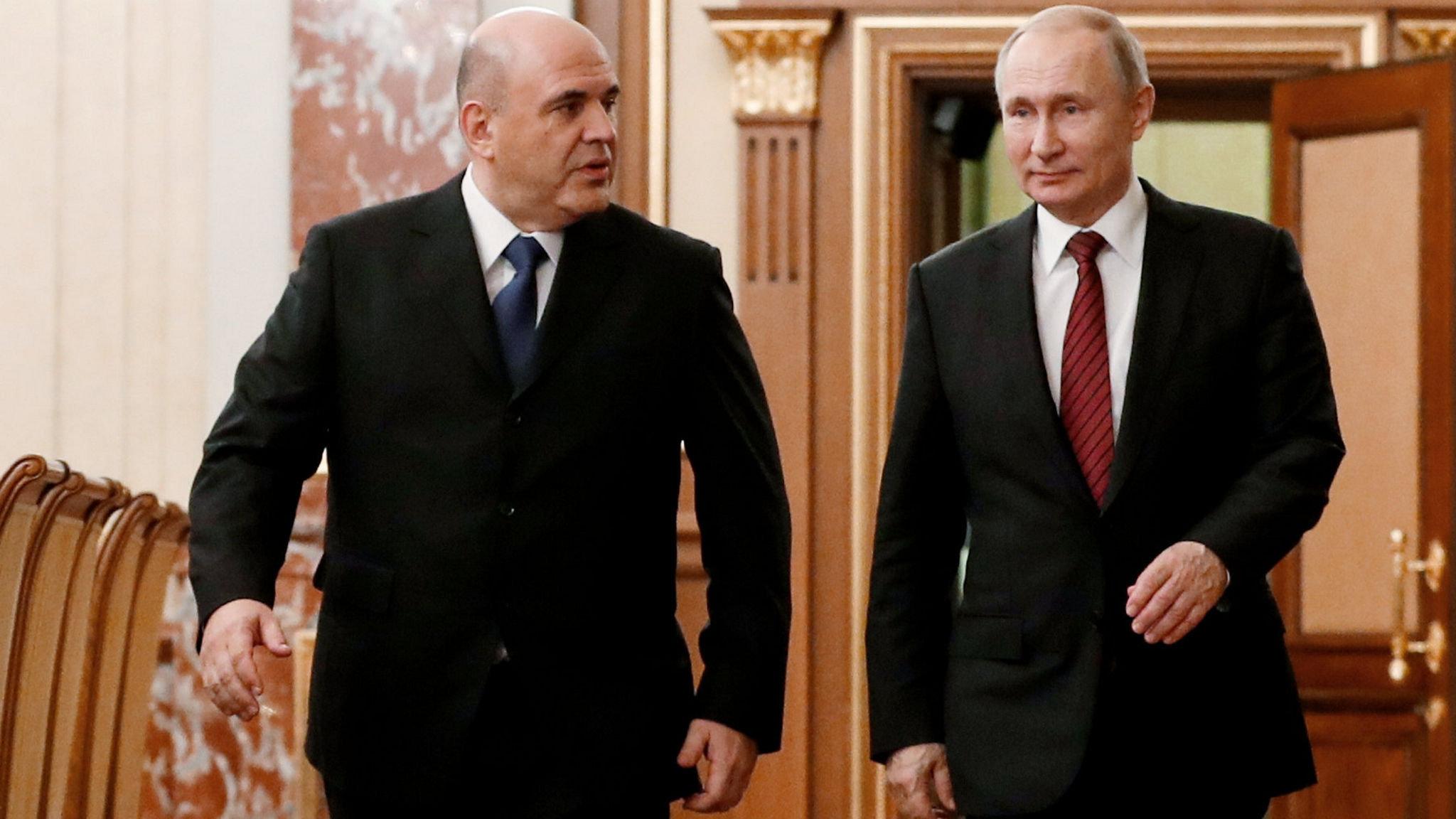 Vladimir Putin Hands New Pm Mandate To Begin Spending Spree Financial Times