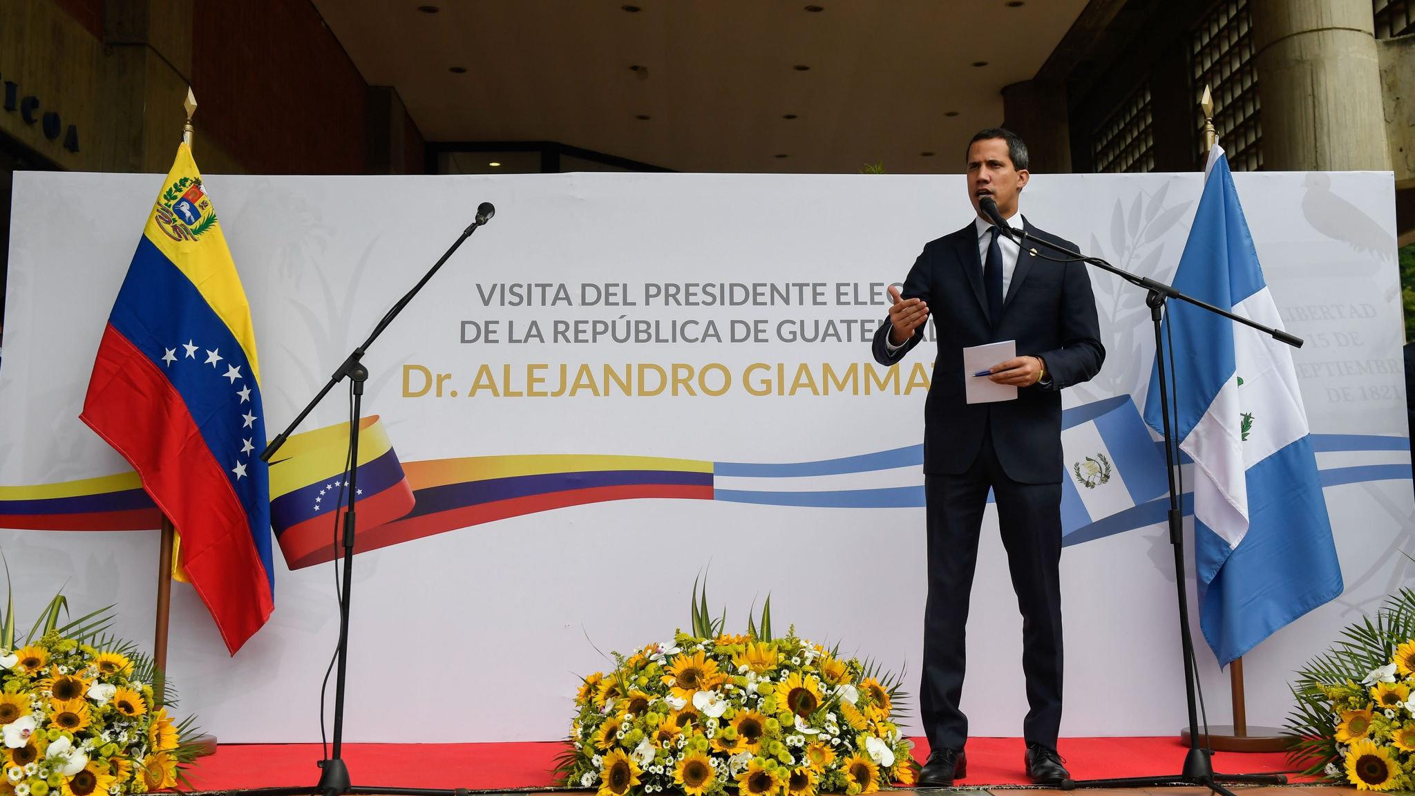 Venezuela turns away Guatemala's new president