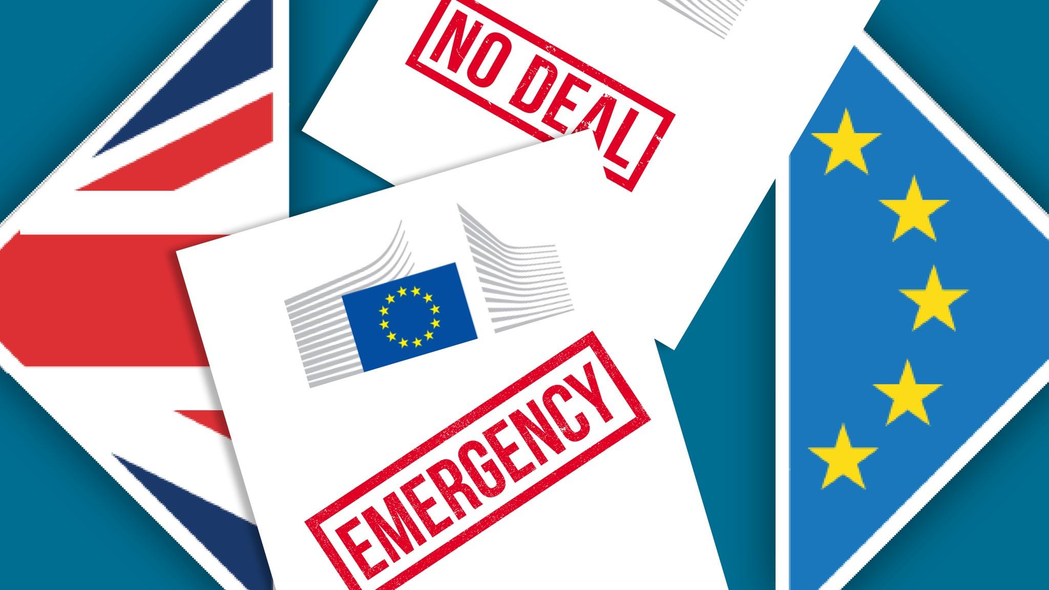 Brussels seeks emergency powers to prepare for hard Brexit