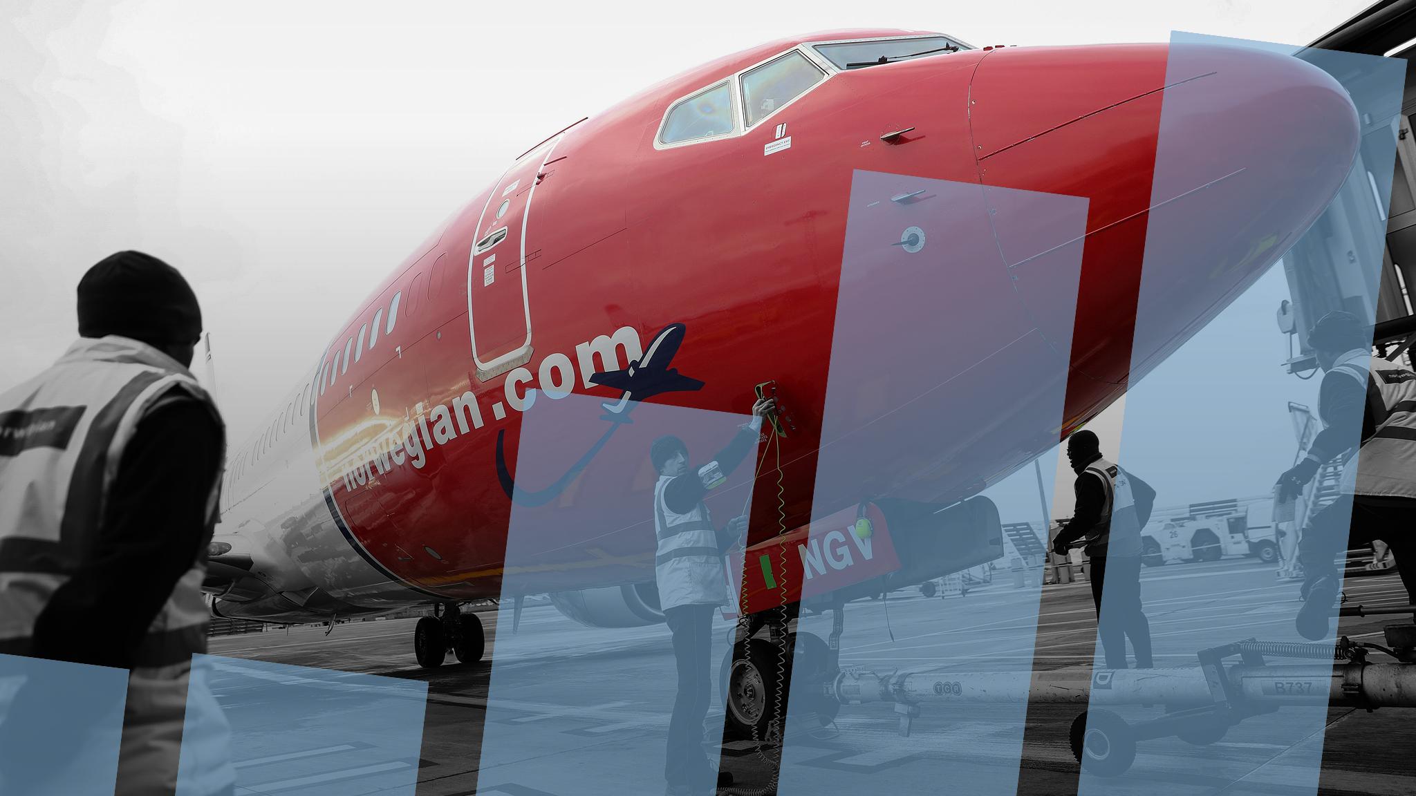 Investors fret over Norwegian Air's rapid growth