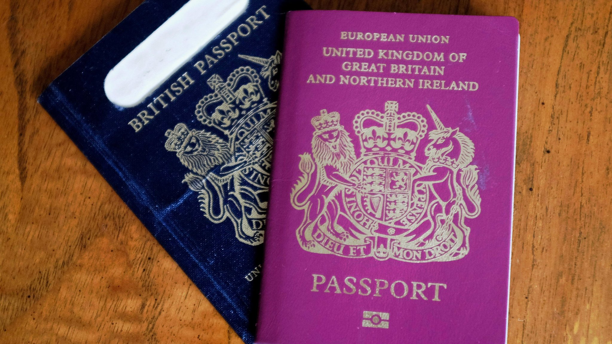 Brexit Opens Way For Return Of Britain S Blue Passport Financial Times