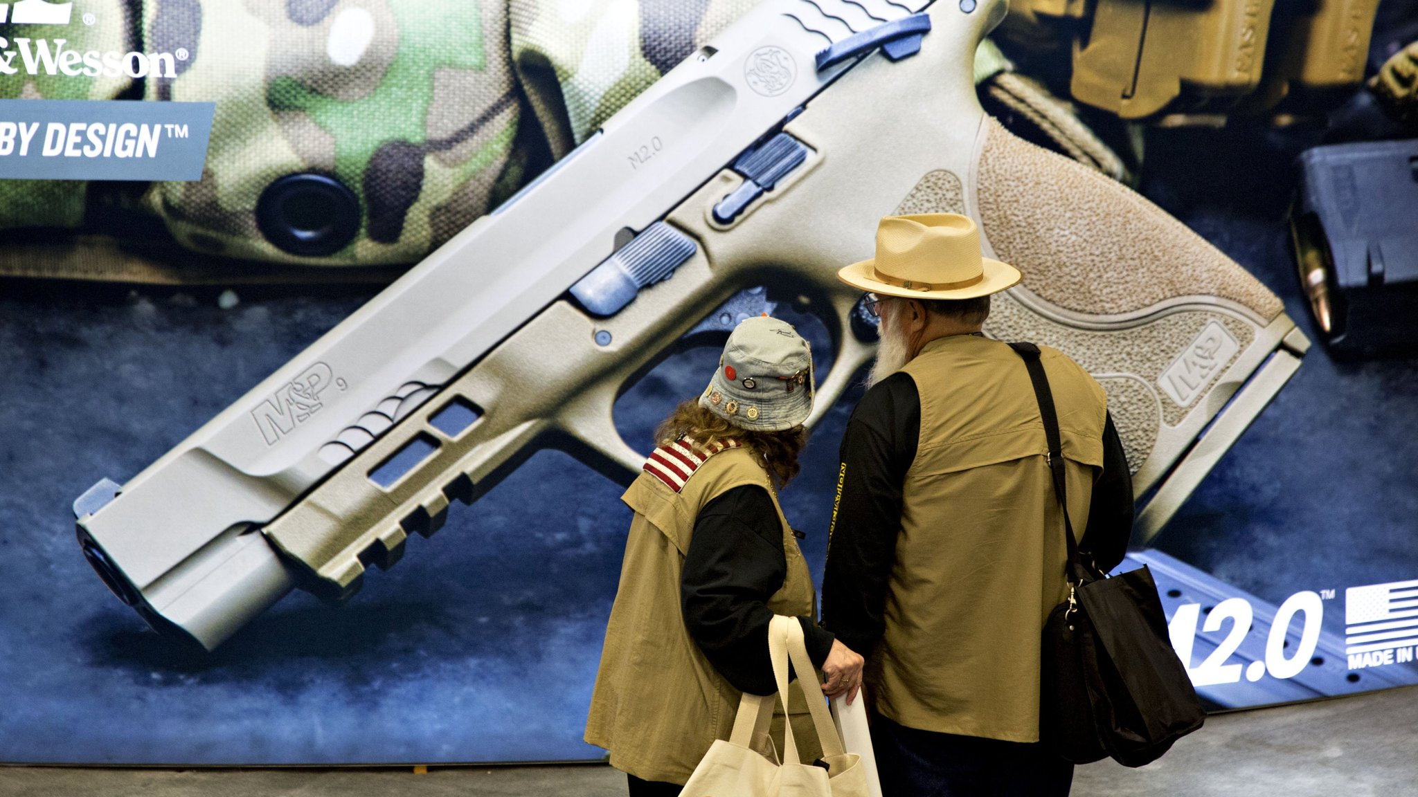 Smith & Wesson owner boosts outlook as US gun demand heats